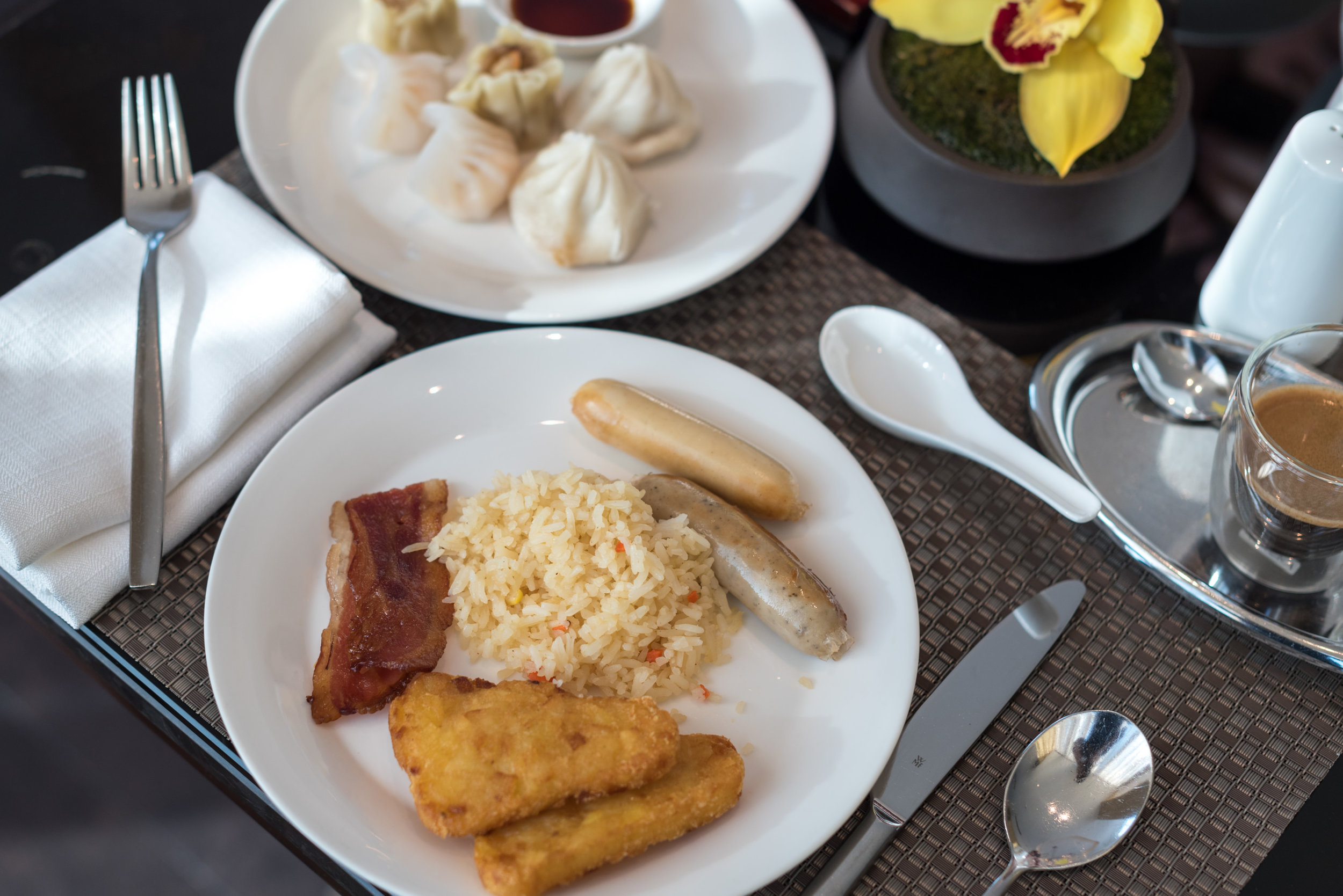 Breakfast at the Executive Lounge  Conrad Beijing
