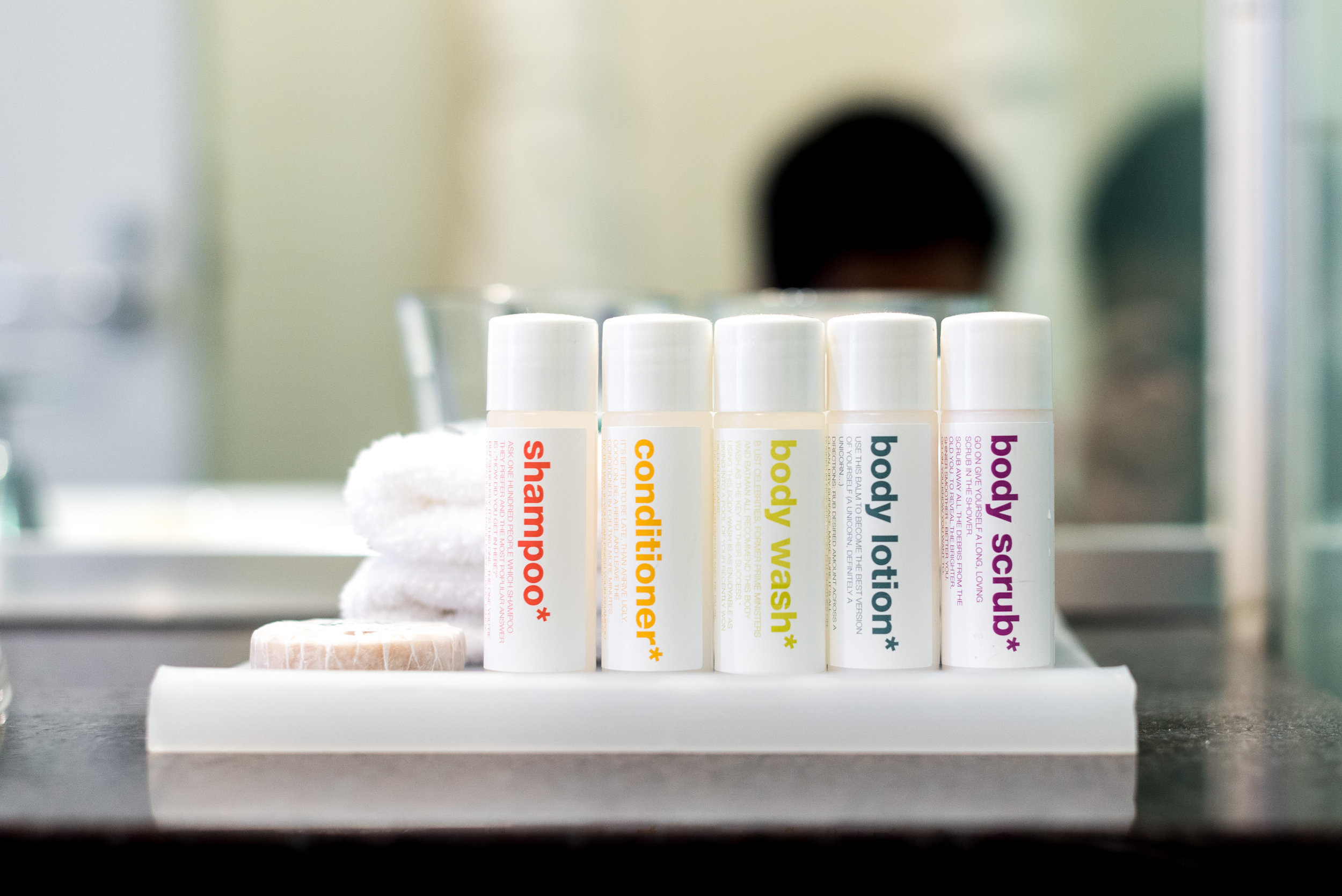 Bath Amenities (In-house)  King Residence Suite - Rydges Auckland