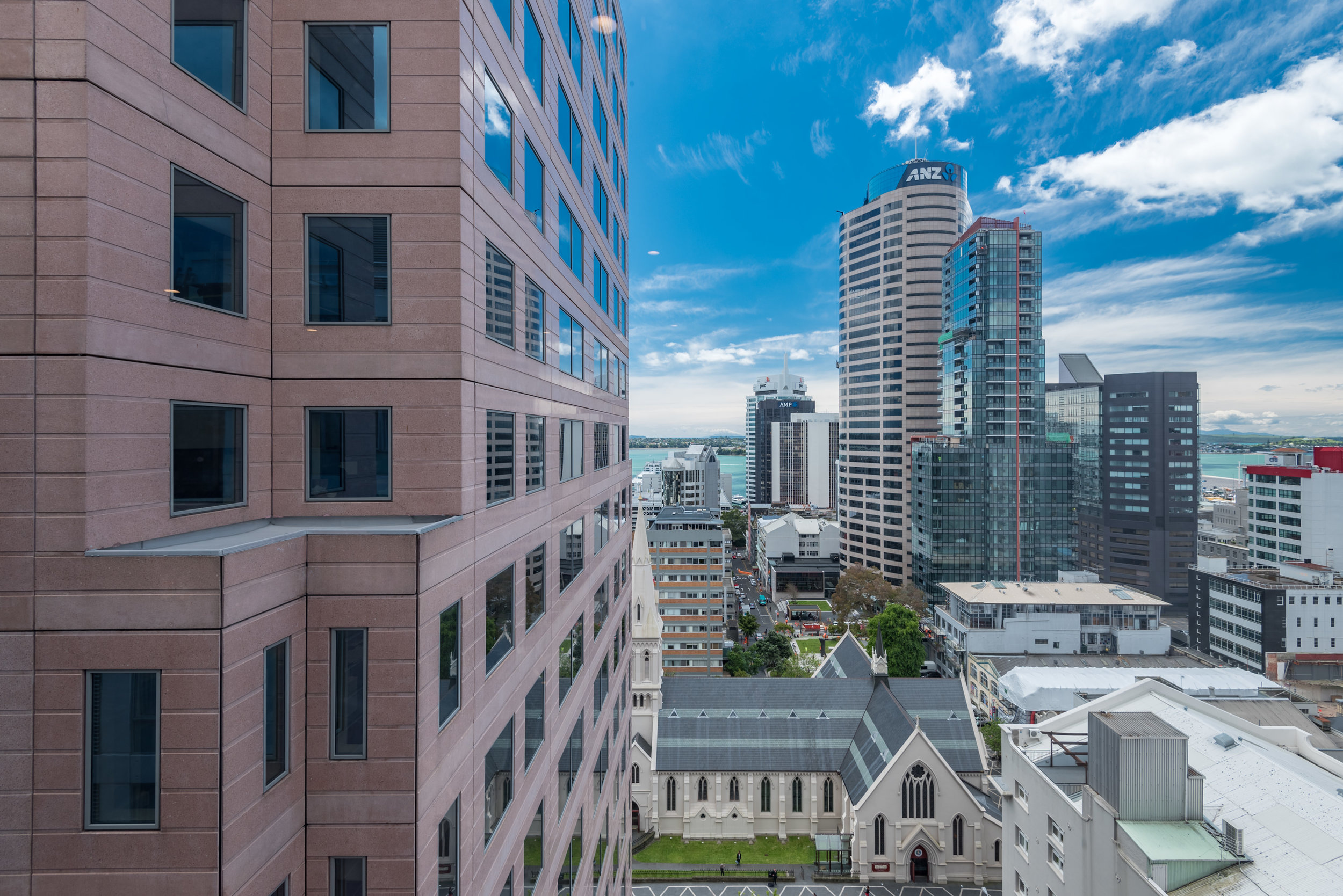 View from Living Room  King Residence Suite - Rydges Auckland