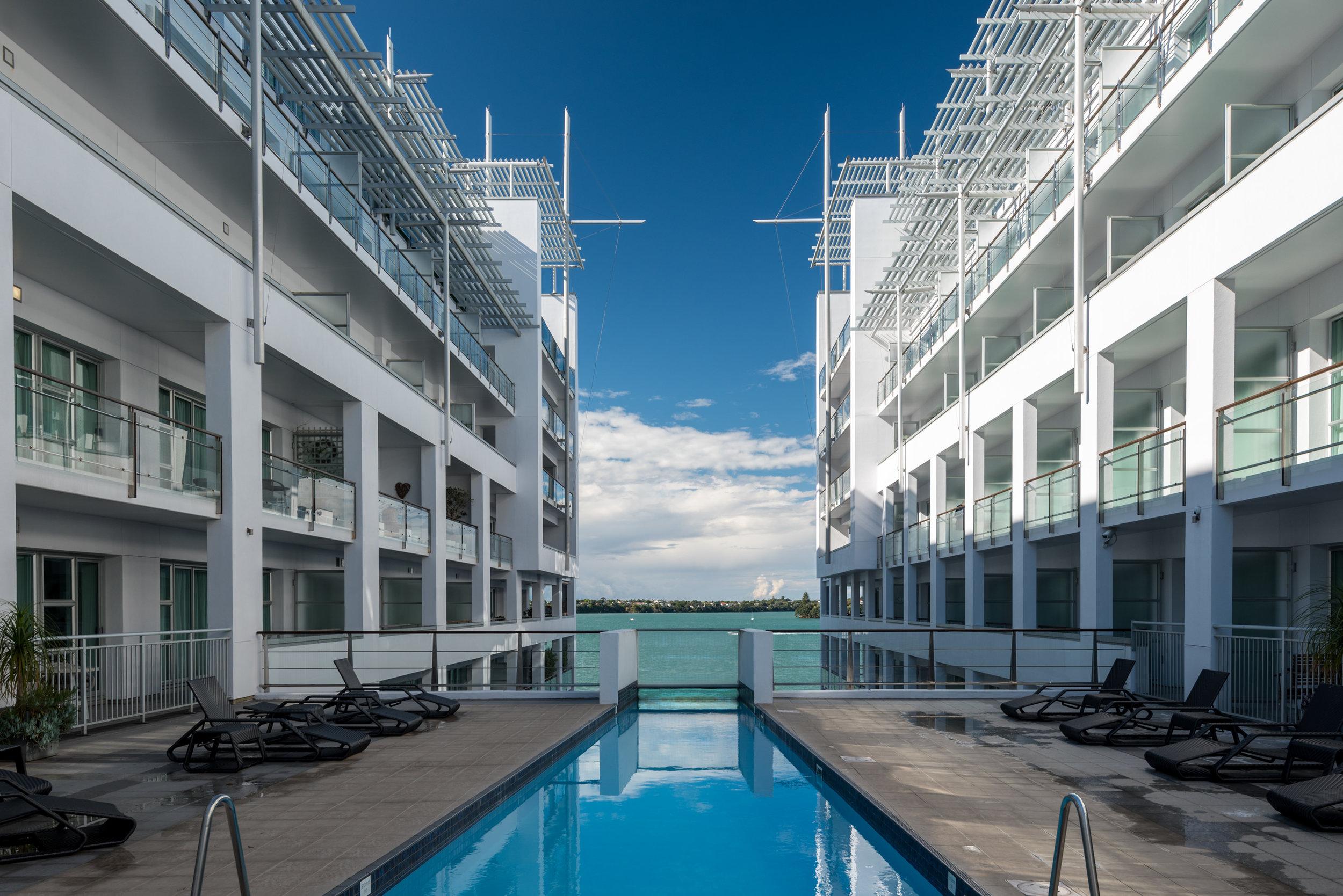 Swimming Pool  Hilton Auckland