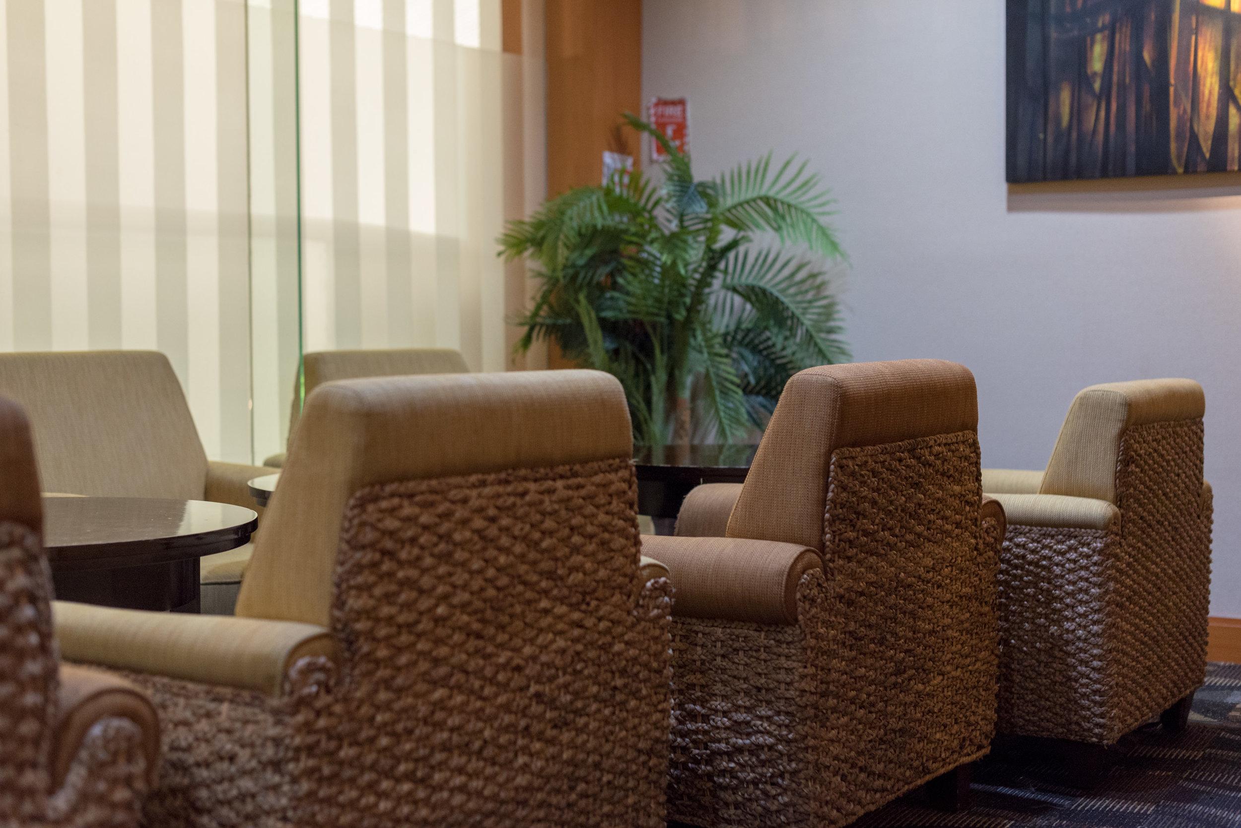 Seating Area  Premier Lounge - Ngurah Rai International Airport (DPS)