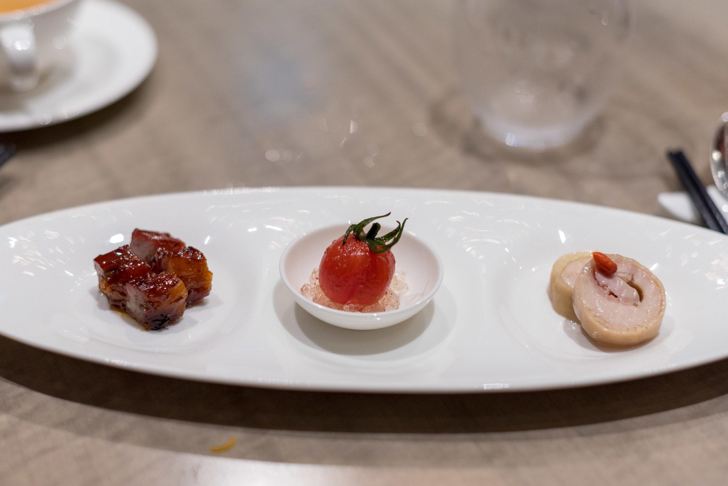 Appetiser Combination  Jiang-Nan Chun - Four Seasons Hotel Singapore