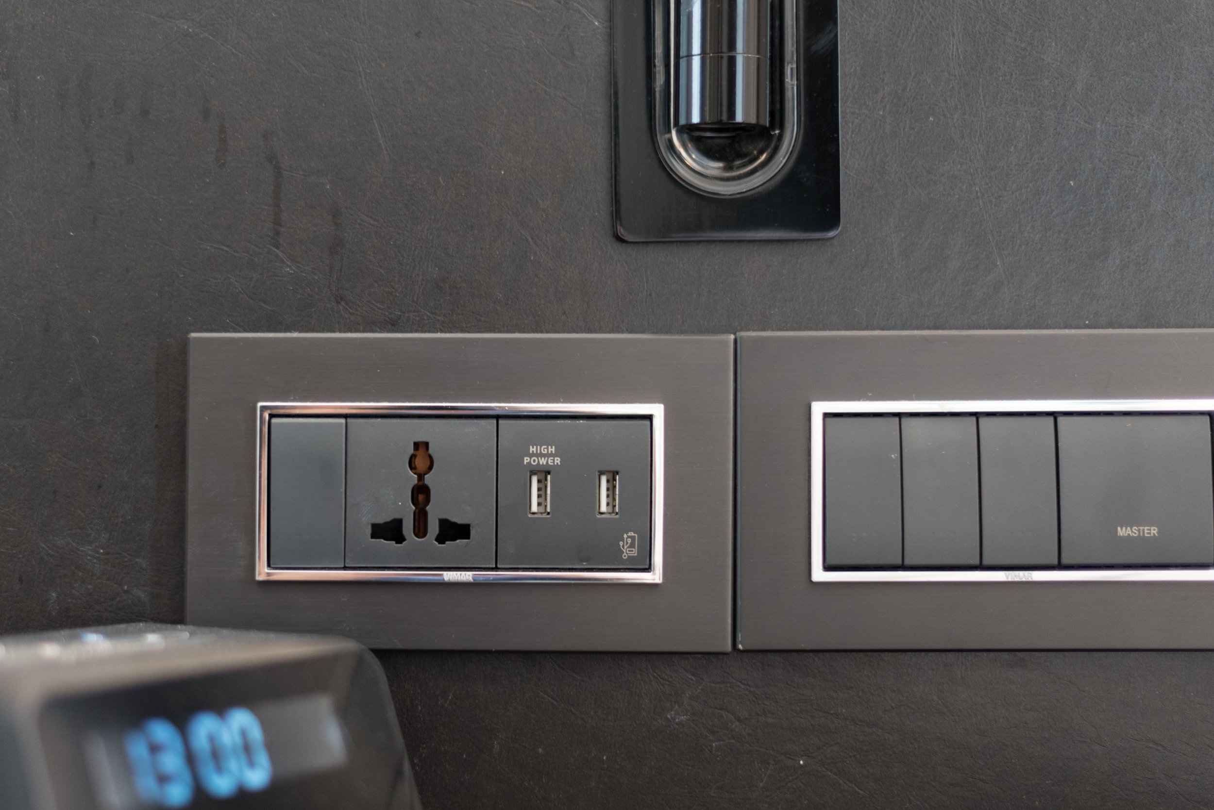 USB Charging Ports and Universal Power Outlets  Premier Room - Novotel Singapore on Stevens