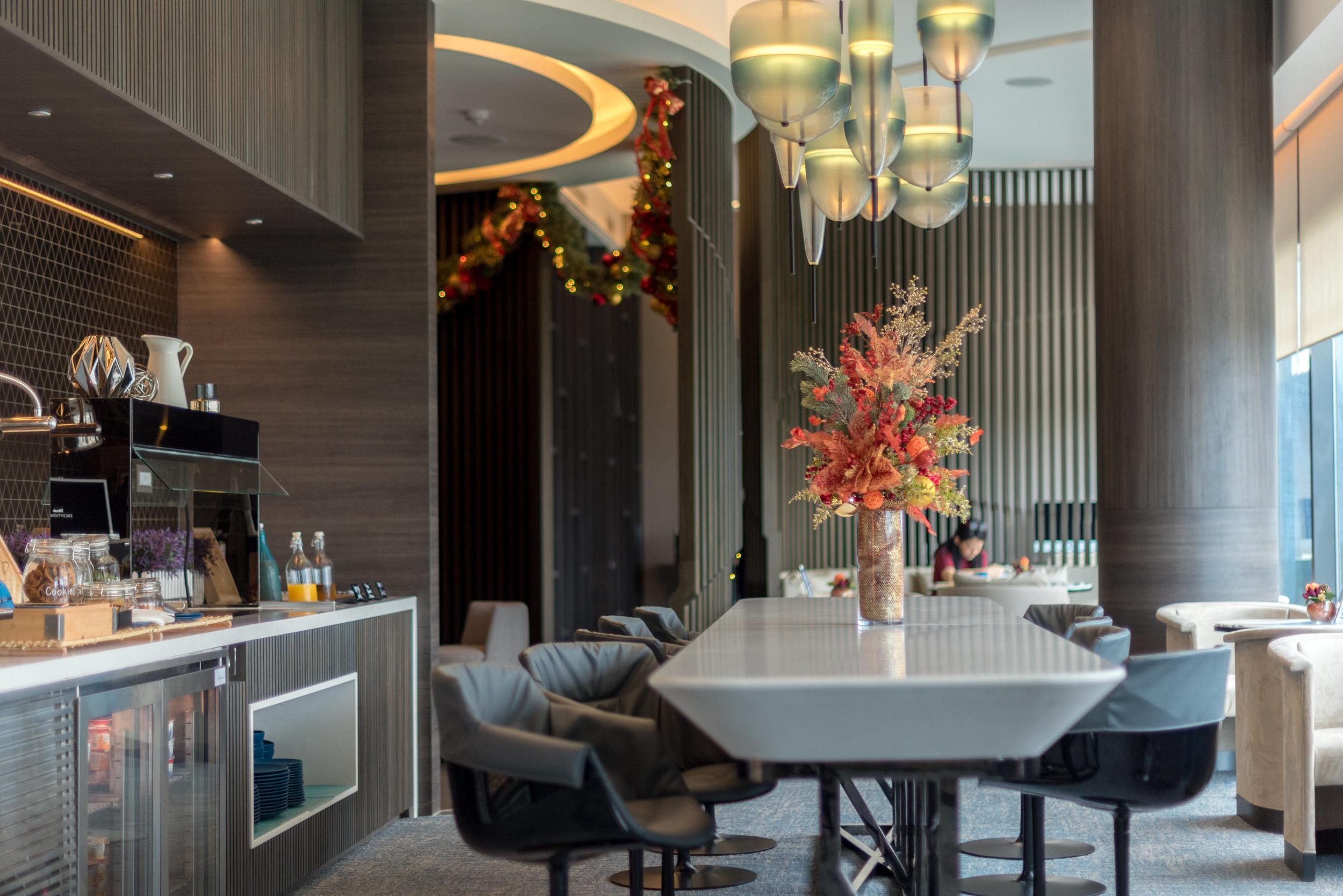 Seating Area  Premier Lounge -Novotel Singapore on Stevens