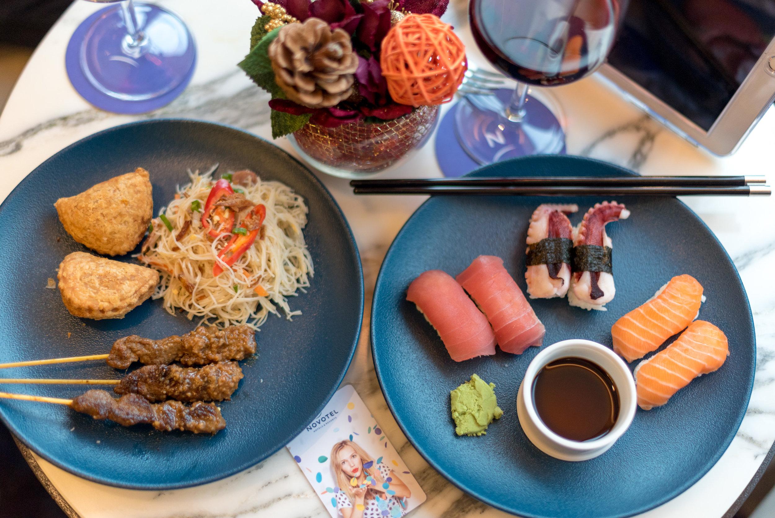 Evening Cocktails and Canapés  Premier Lounge - Novotel Singapore on Stevens