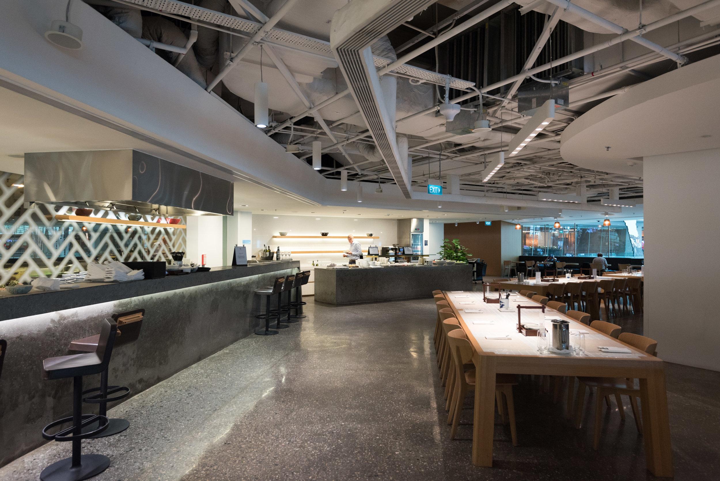 The Qantas Lounge - Singapore Changi Airport (SIN)