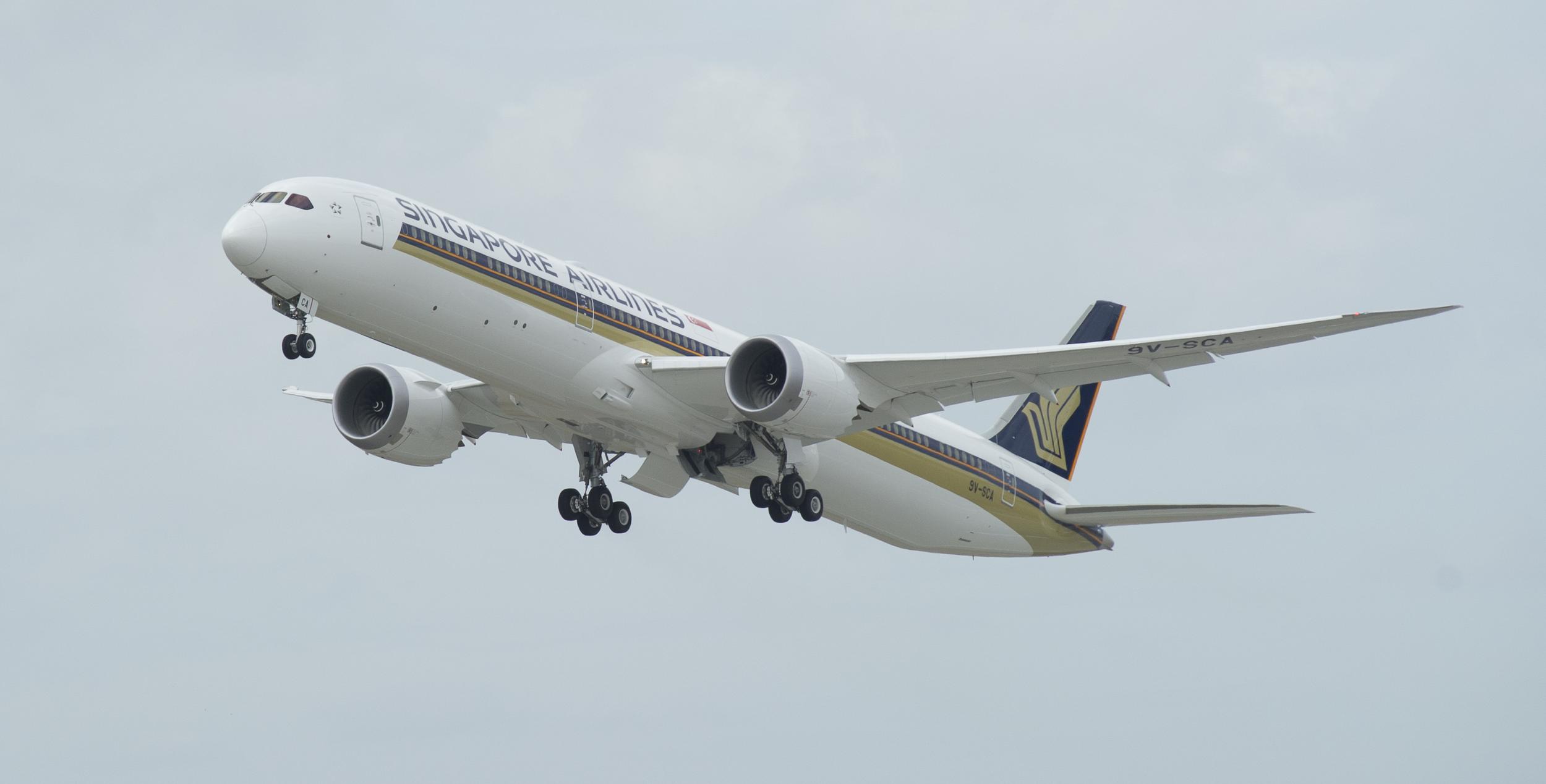 Flight Testing | Photo Credit: Singapore Airlines
