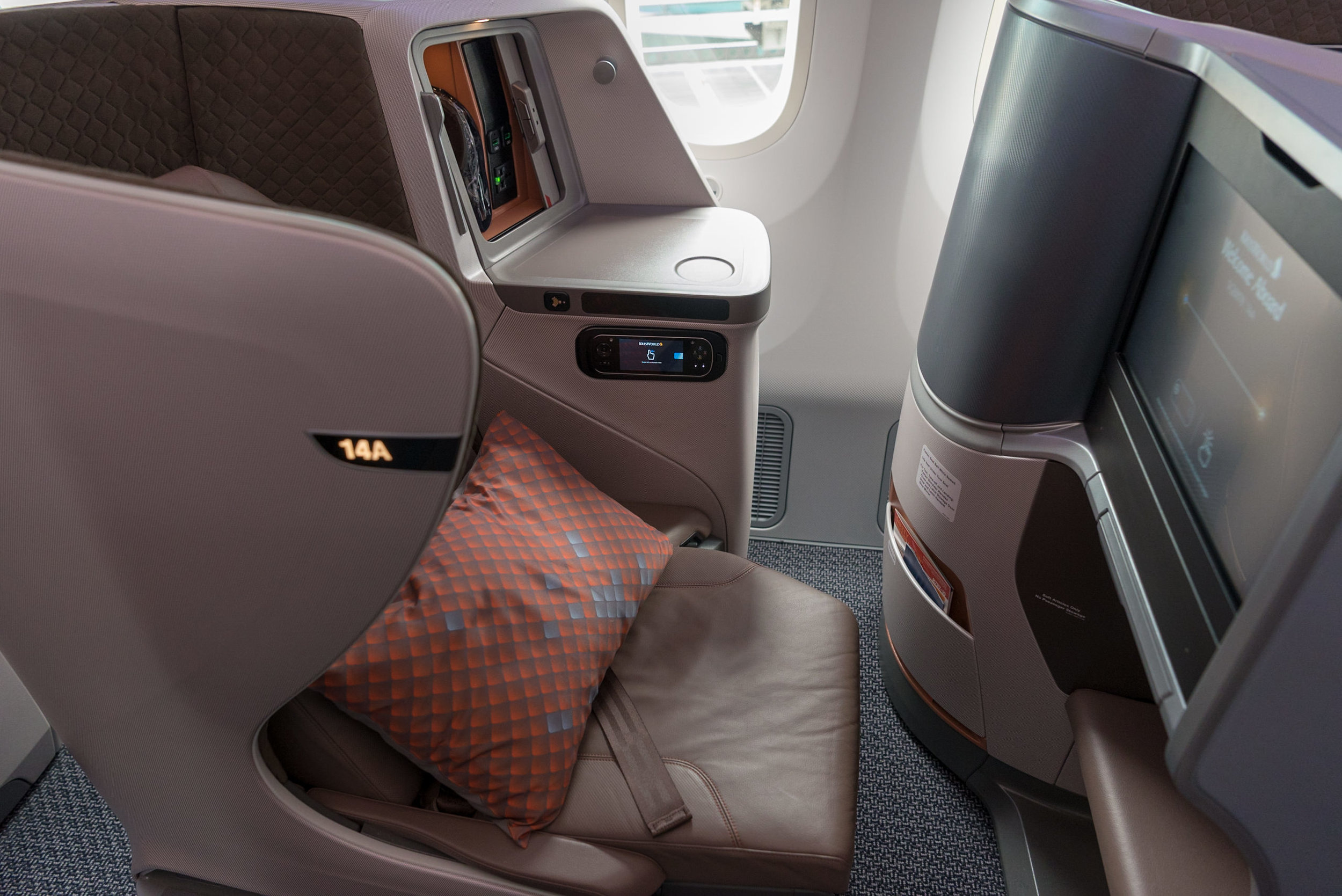 Seat 14A  New Regional Business Class (2018) - Singapore Airlines