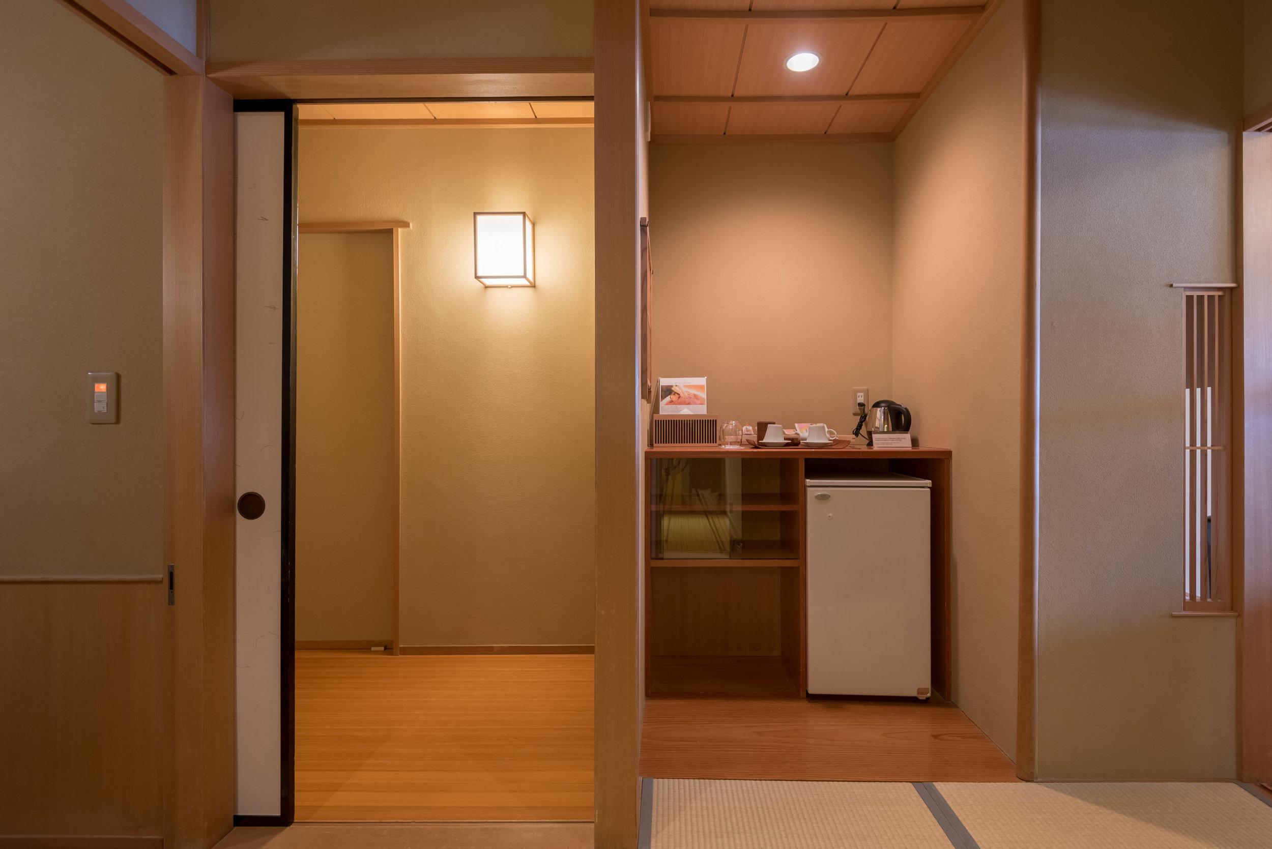 Entrance to Room  Japanese-style Room with Lake View GL2 - Hoshino Resorts KAI Nikko