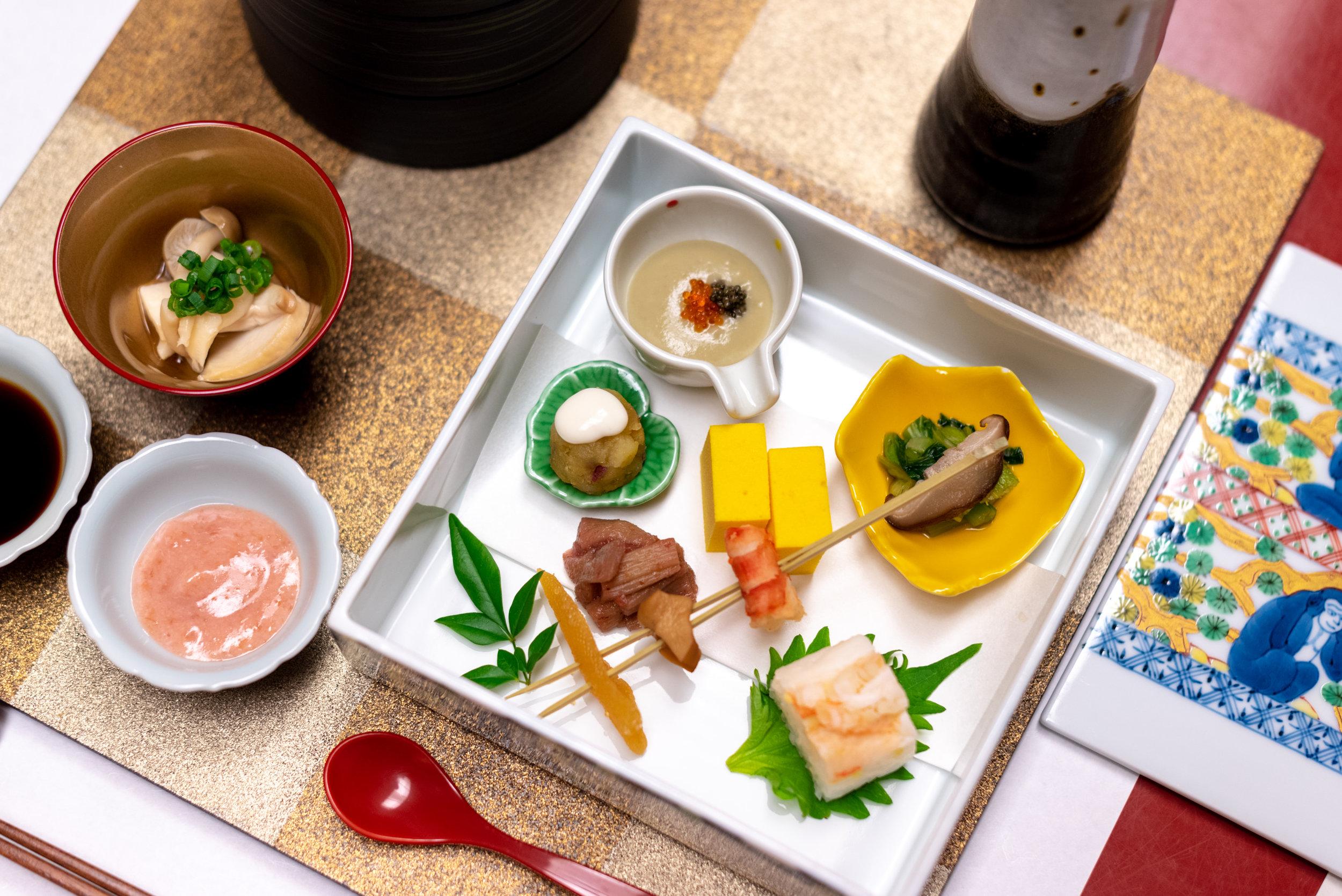 Assorted Delicacies  Dinner - Hoshino Resorts KAI Nikko