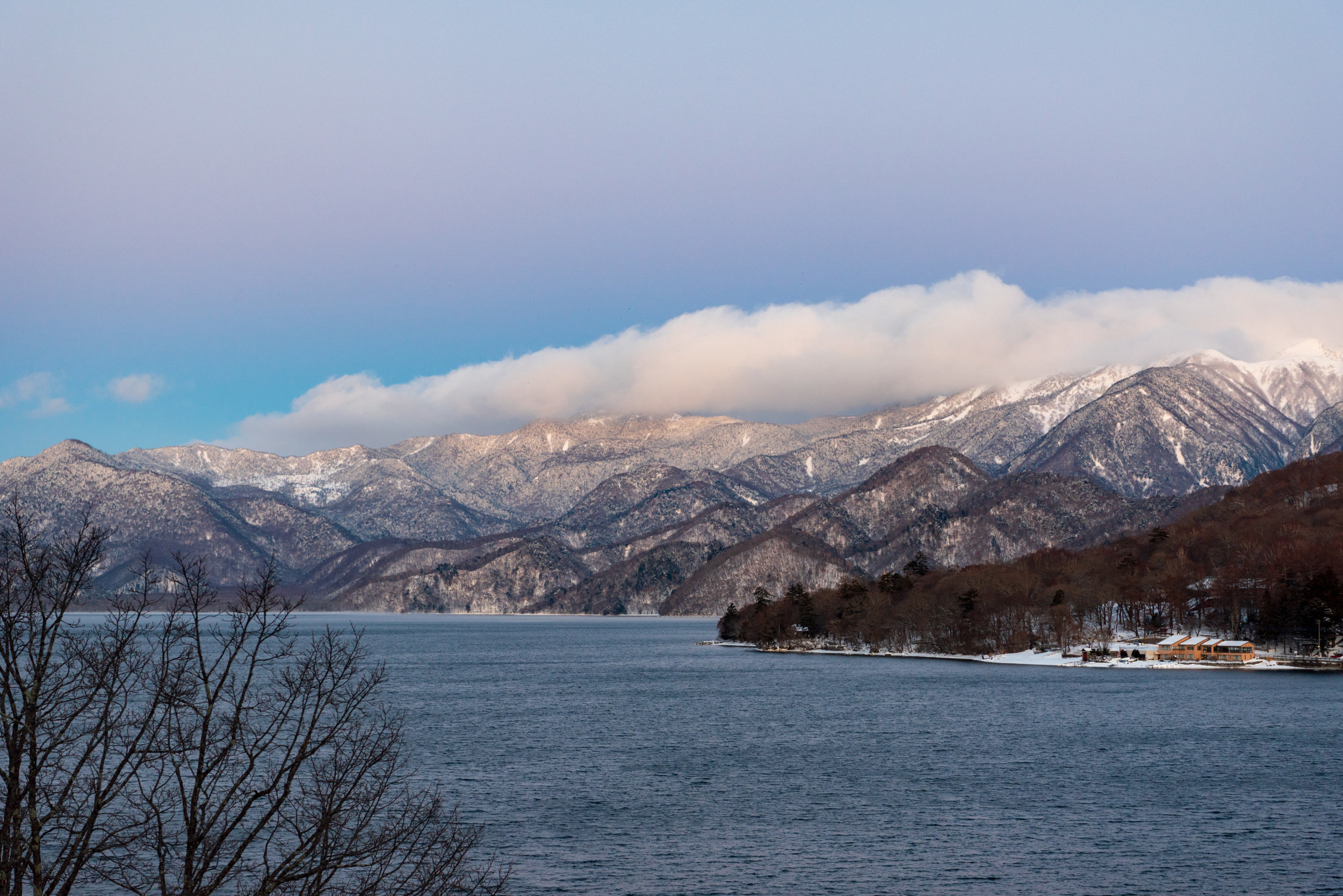 View of Lake Chuzenji and Mountains  Japanese-style Room with Lake View GL2 - Hoshino Resorts KAI Nikko