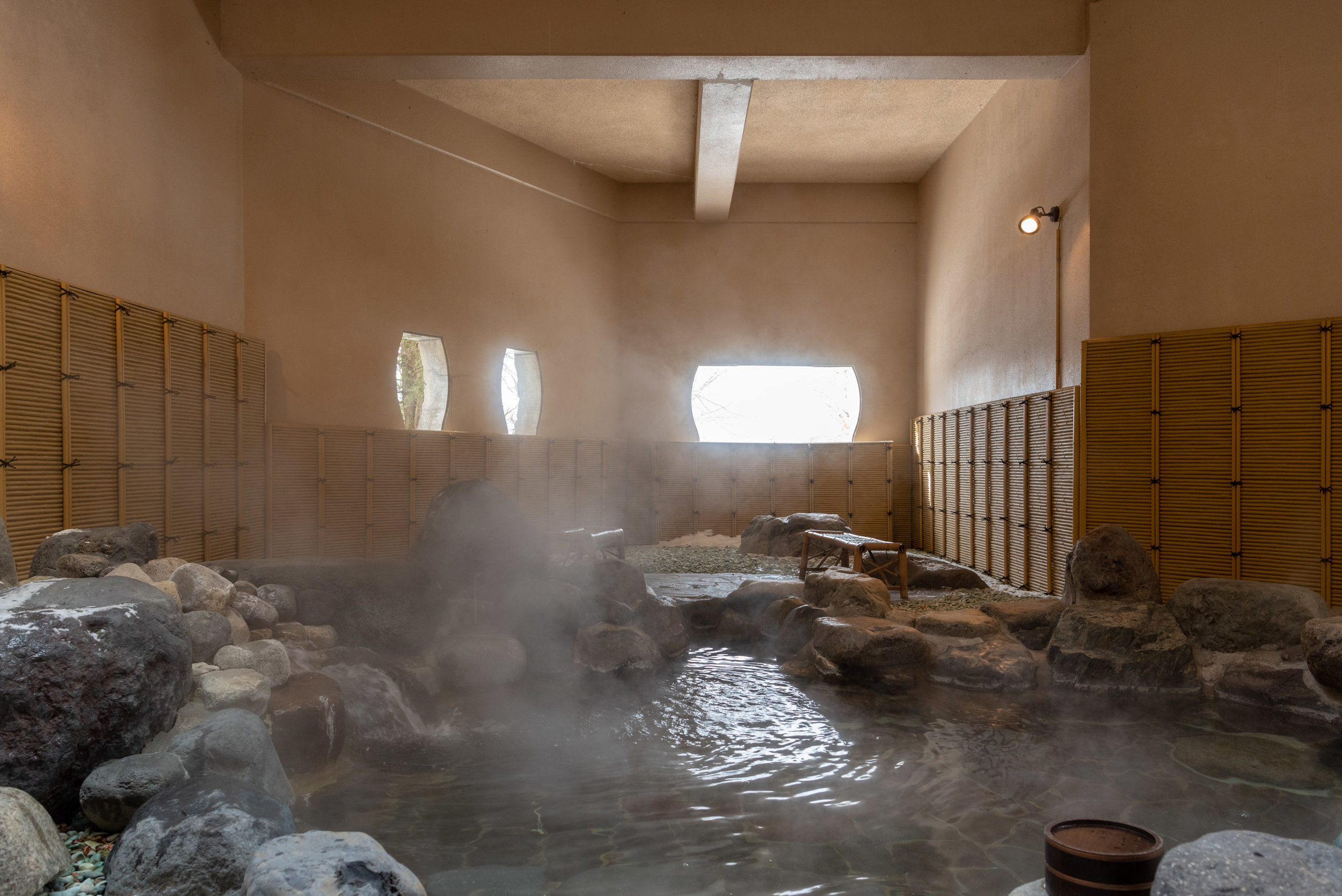 Outdoor Onsen for Men  Breakfast - Hoshino Resorts KAI Nikko