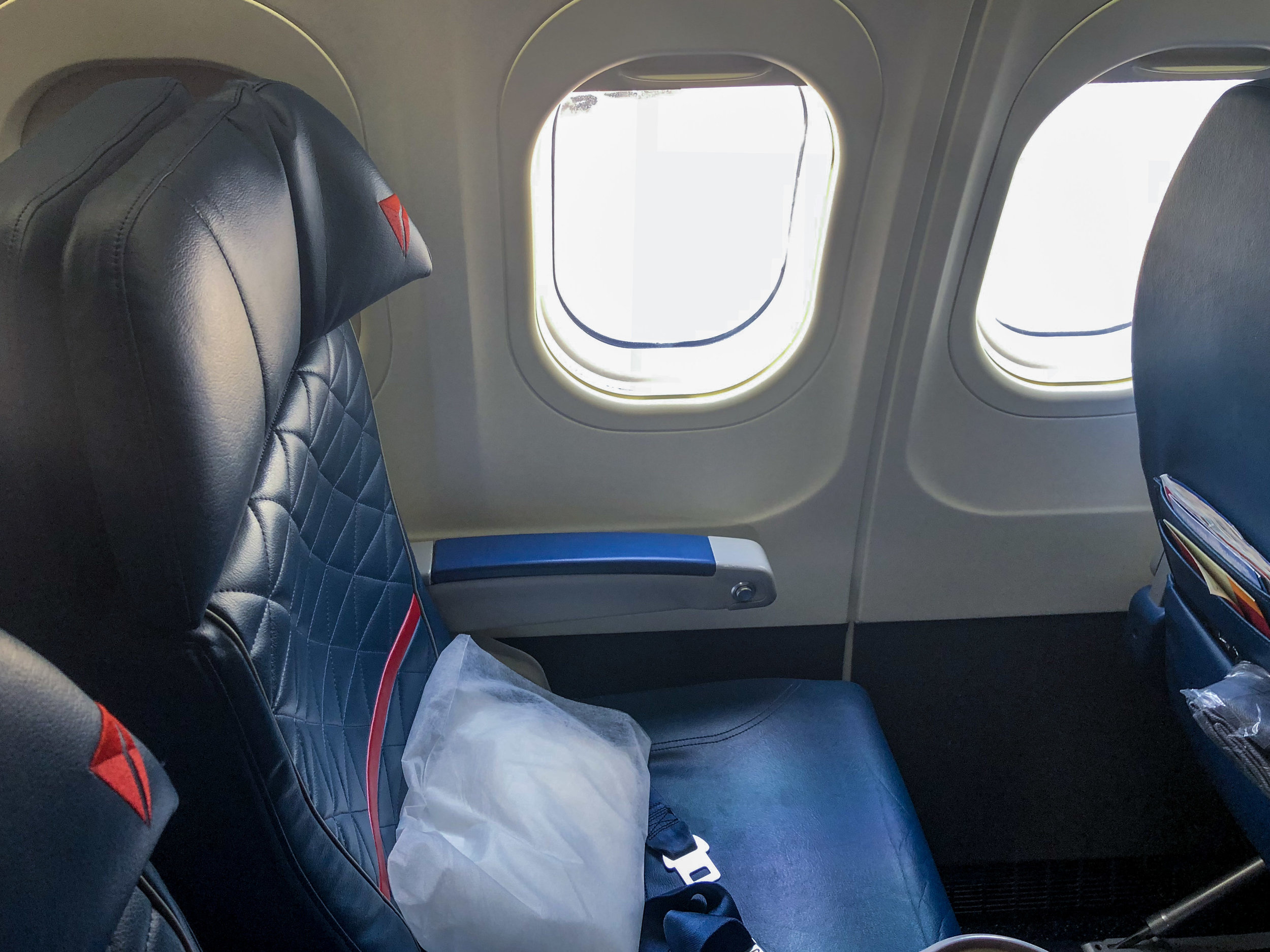 Delta Air Lines First Class Dl2593