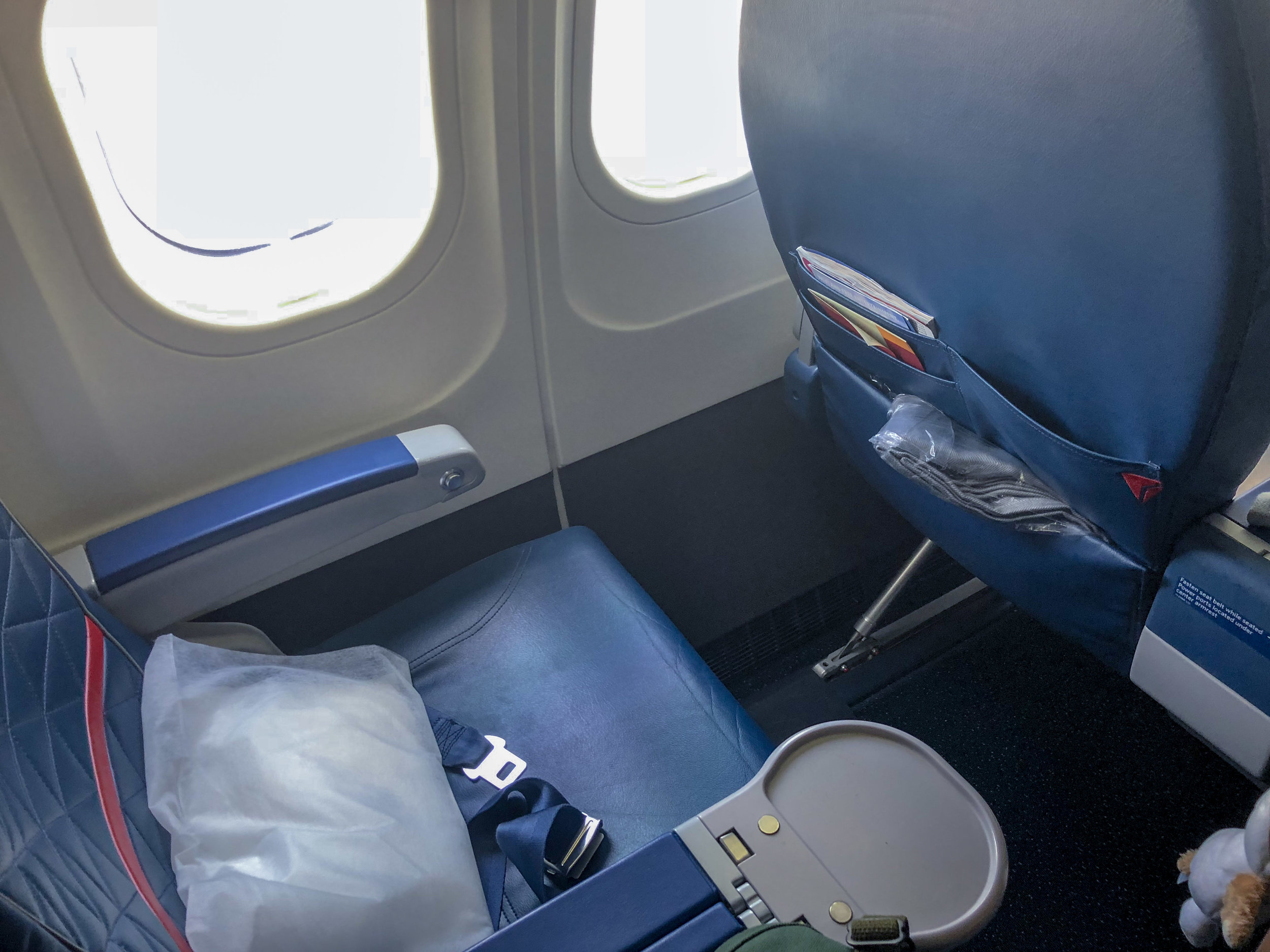 Seat 2A  Delta Air Lines First Class - JFK to TPA
