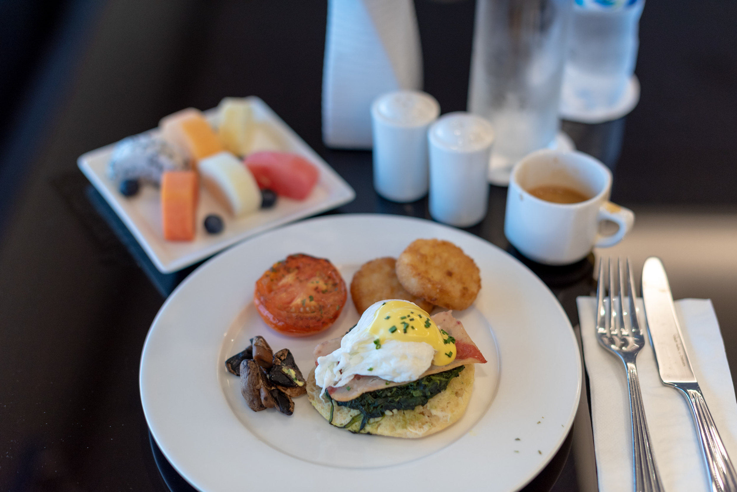 Breakfast   The Emirates Lounge - Singapore Changi Airport (SIN)