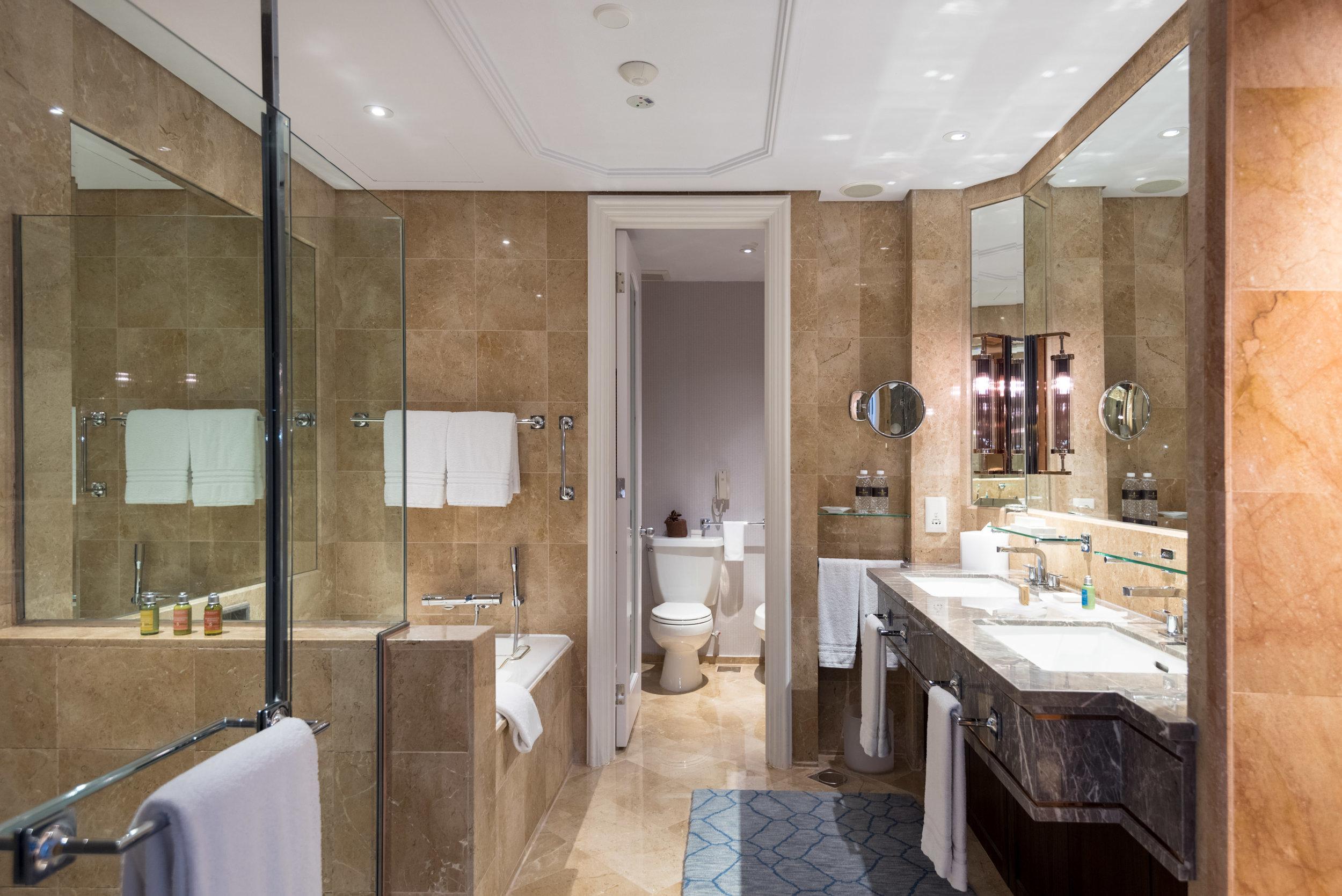 Bathroom  Four Seasons Executive Suite - Four Seasons Hotel Singapore