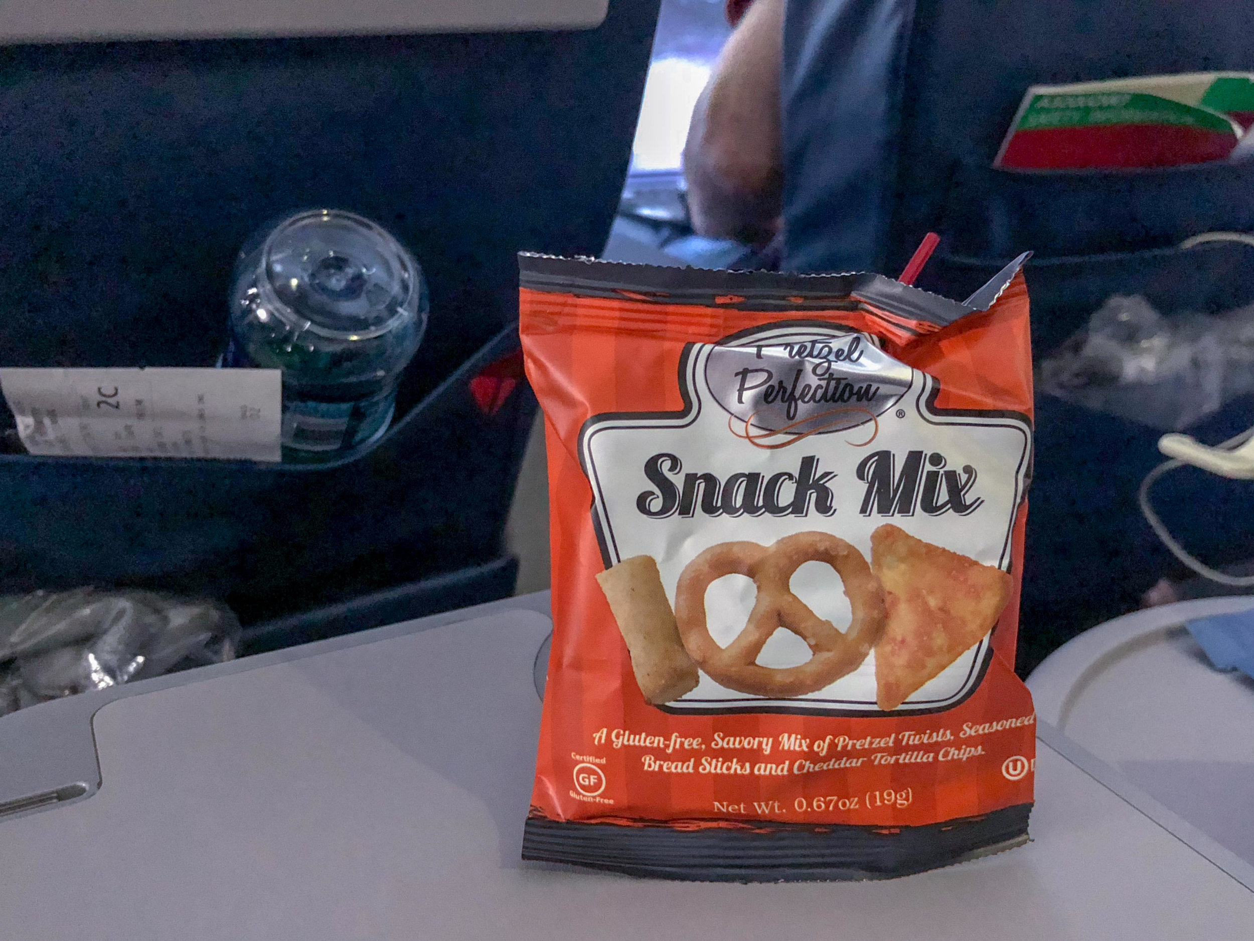 Salted Snack Mix  Delta Air Lines First Class - MCO to JFK