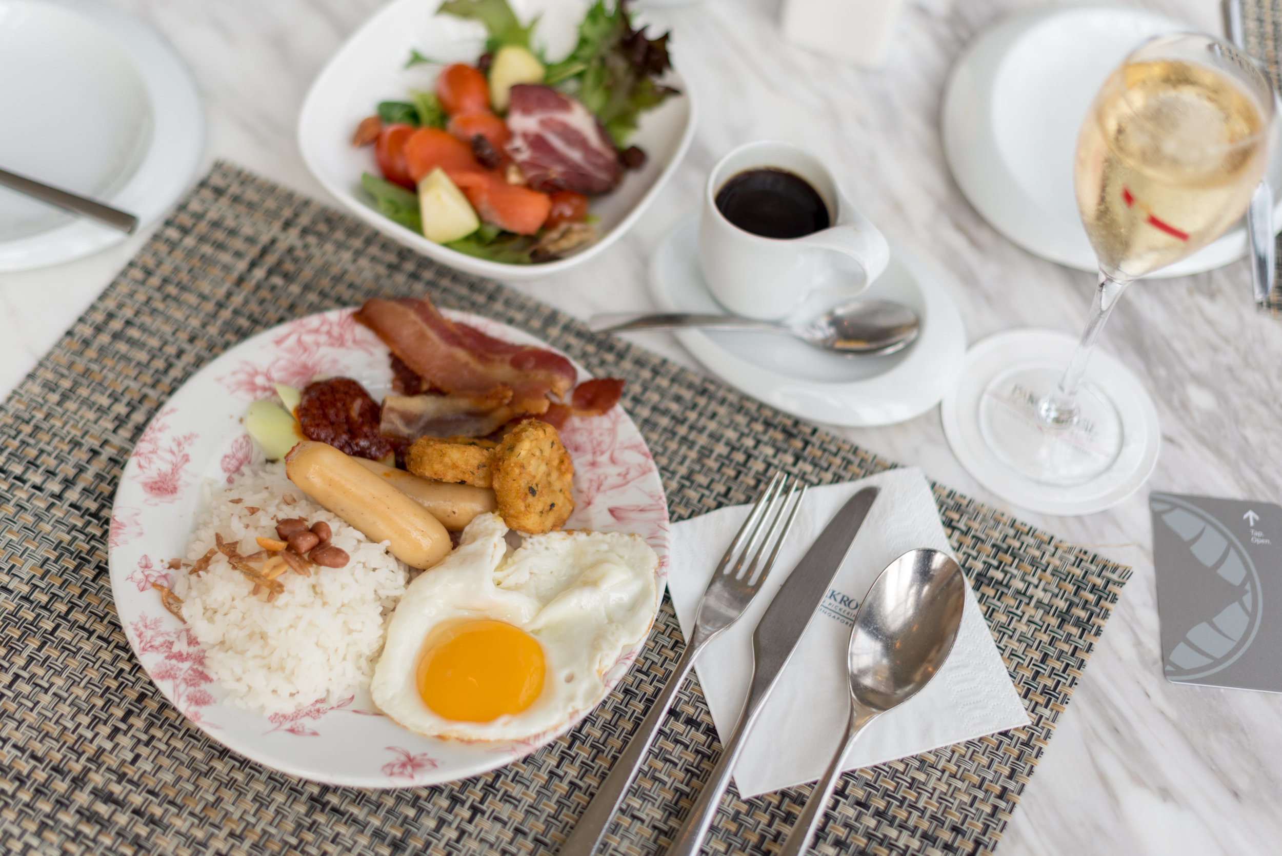 Champagne Breakfast  Orchid Club Lounge - PARKROYAL on Pickering