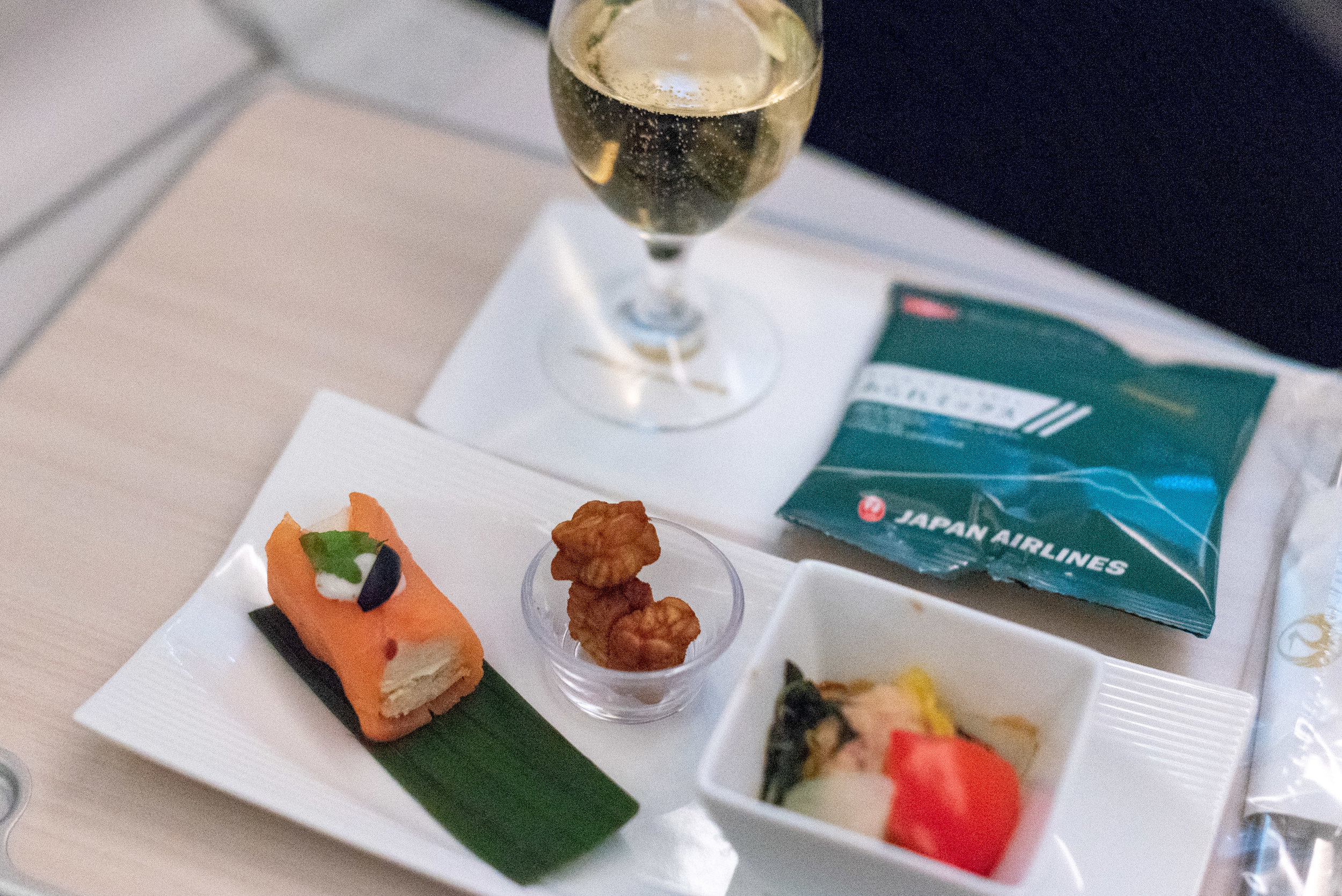 Supper Japan Airlines Business Class JL724 - KUL to NRT