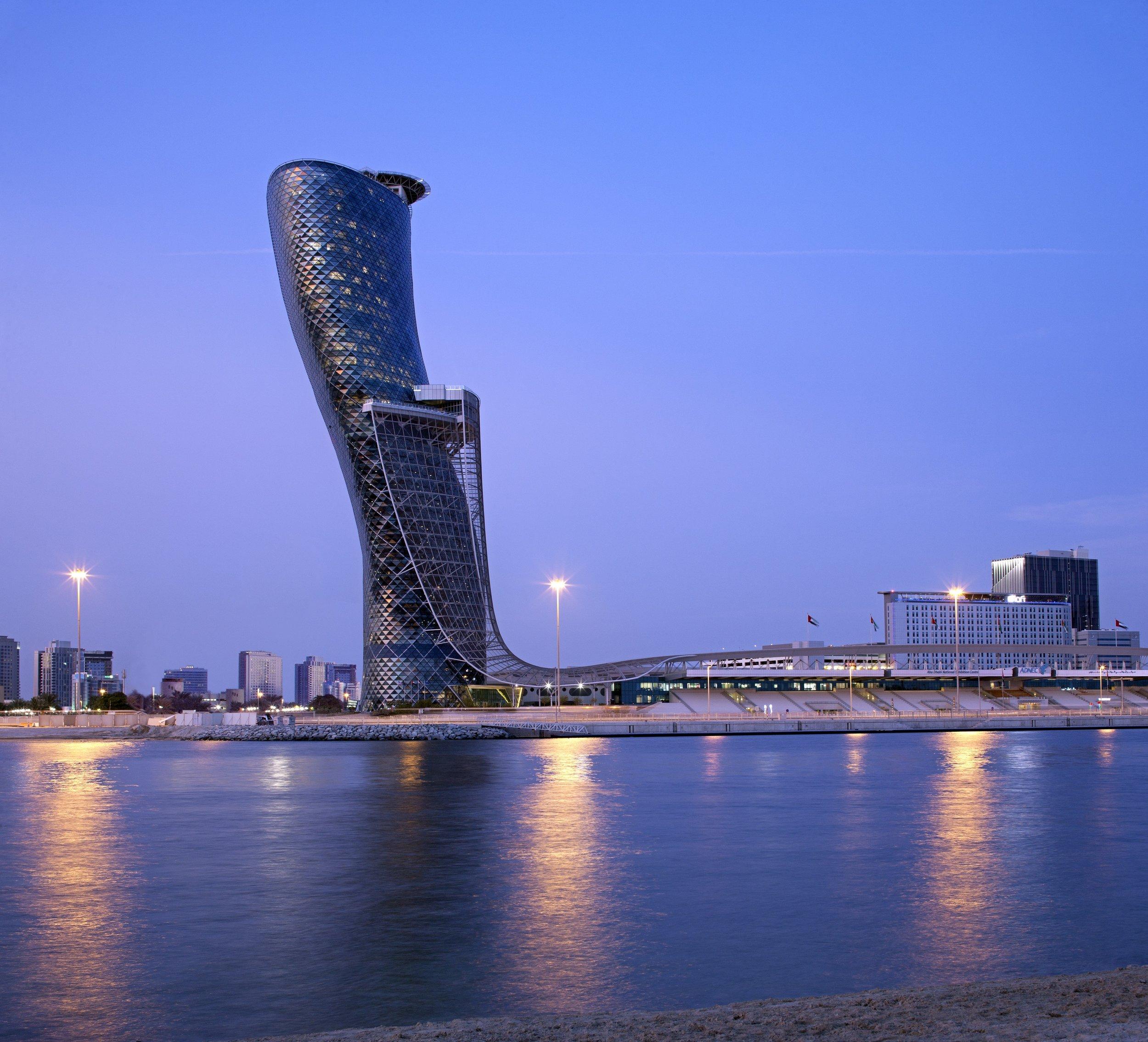 Photo Credit: Andaz Capital Gate Abu Dhabi