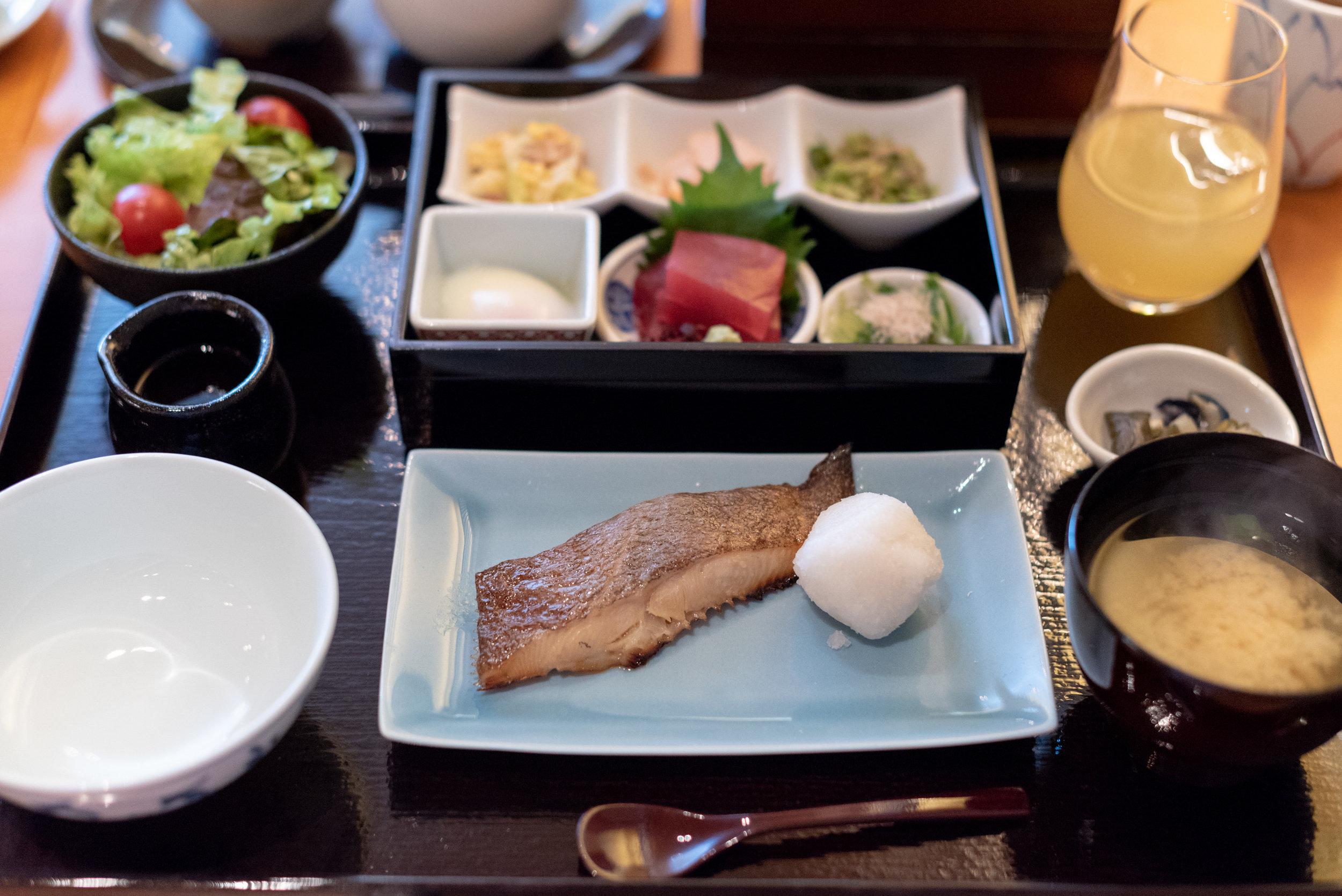 Japanese Breakfast  Kakou - Hyatt Regency Tokyo