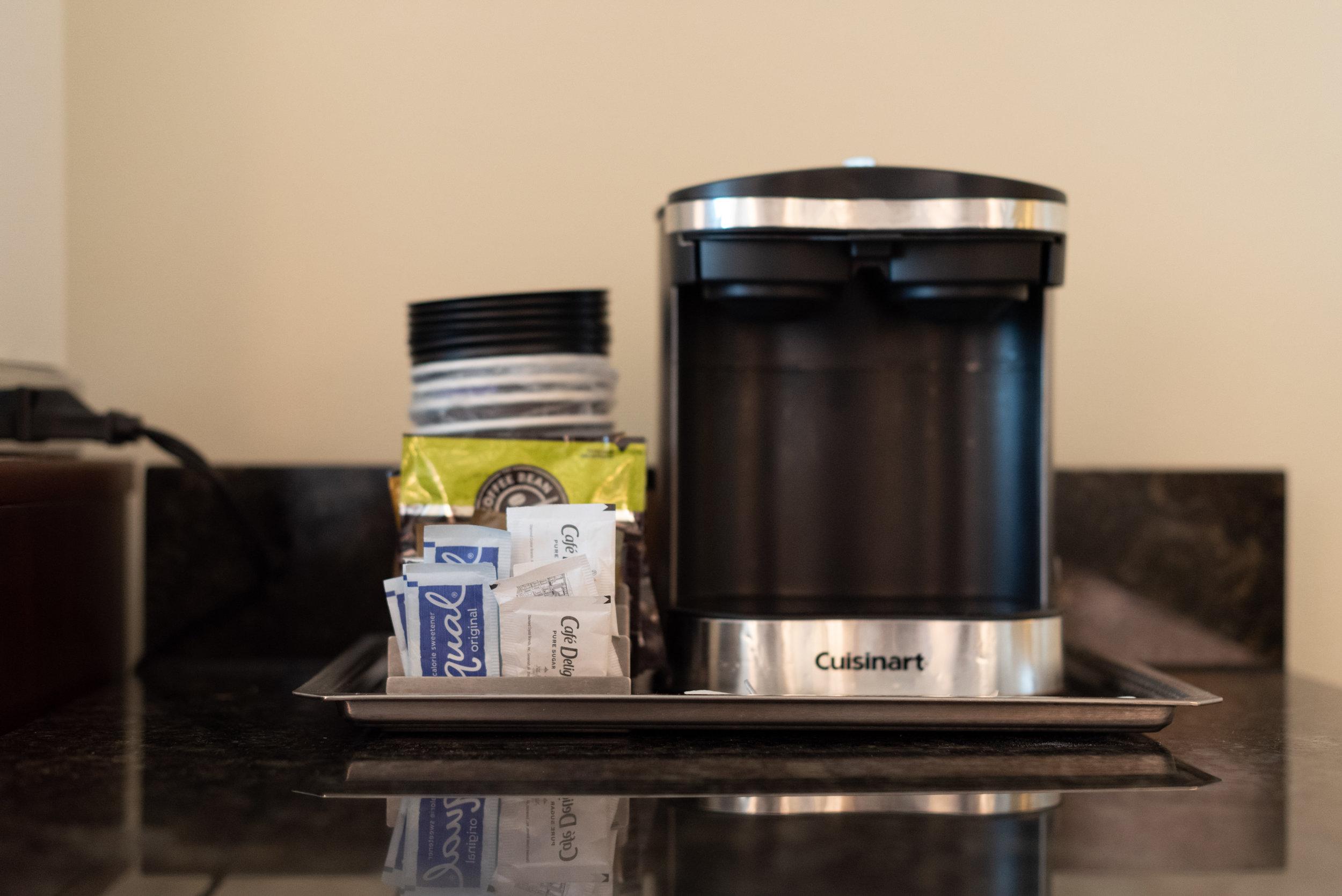 Coffee Maker  Pool View Room - Hilton Orlando