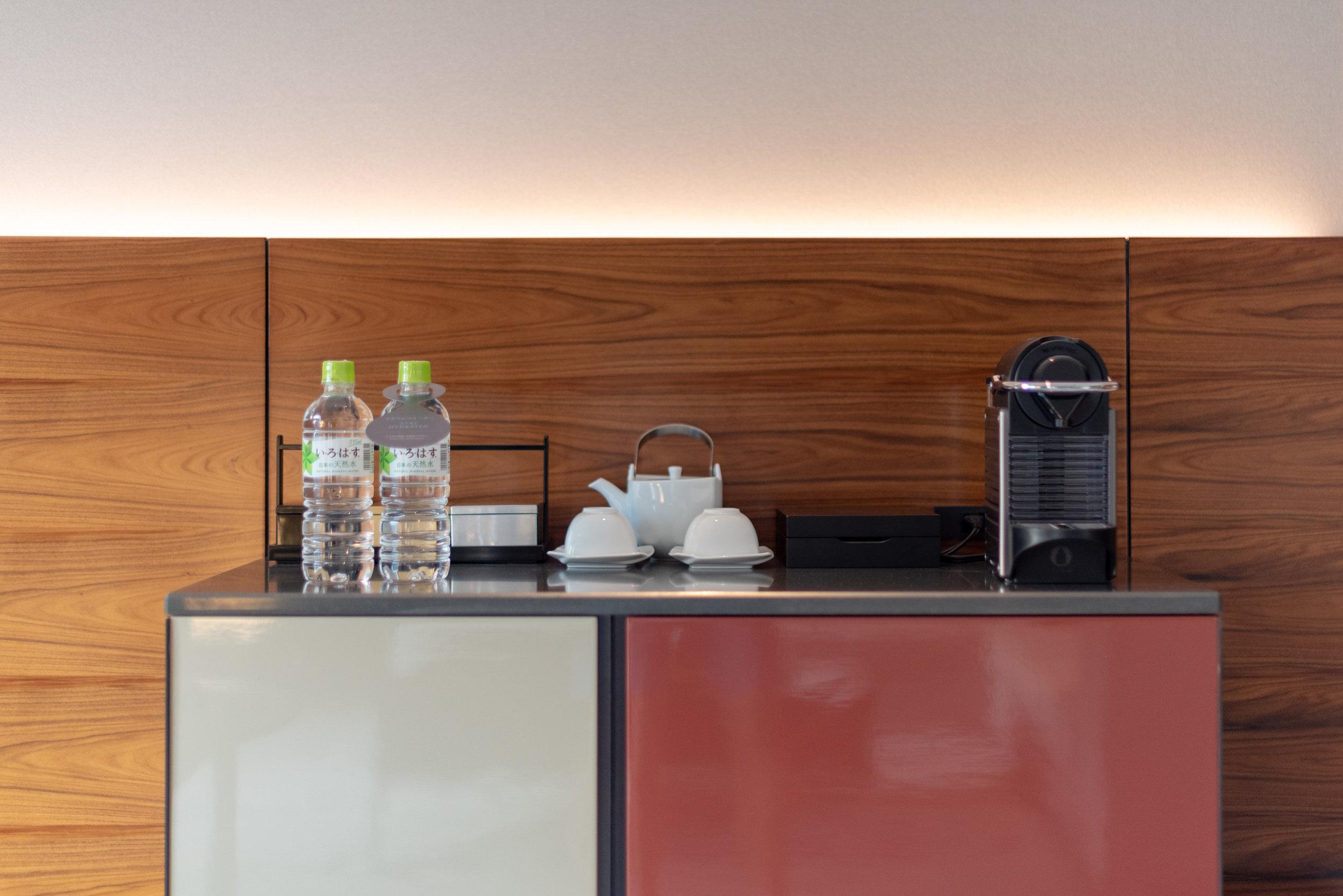 Nespresso Coffee Machine  King Tower Suite Executive - Hilton Tokyo