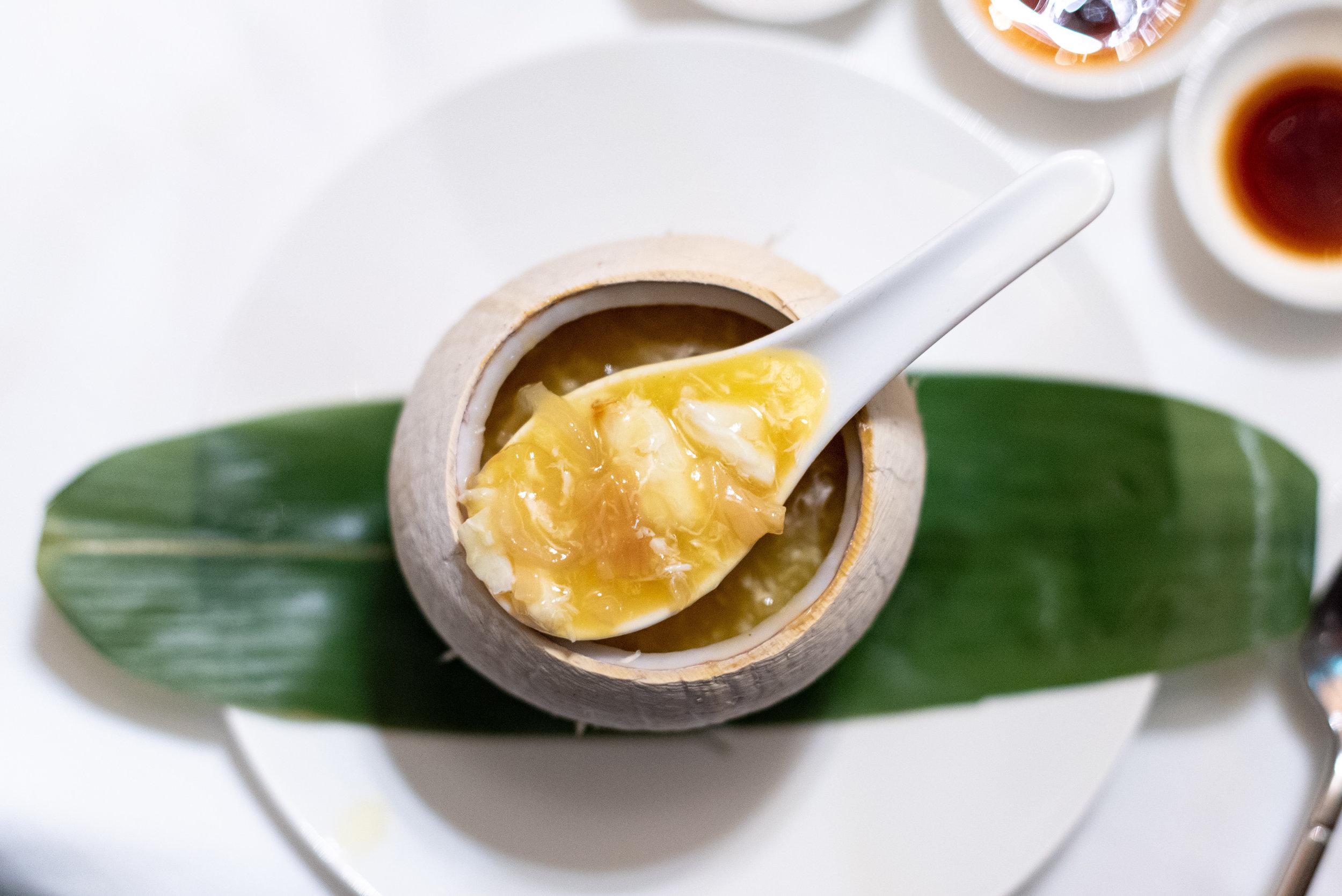 Four Treasure Soup (S$28++)  Madame Fan - NCO Club at the JW Marriott Singapore South Beach