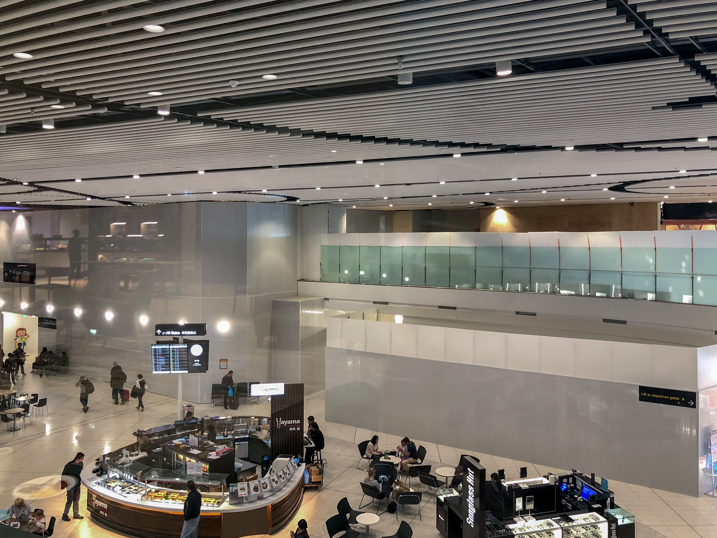 View from Lounge  Strata Lounge - Auckland Airport (AKL)
