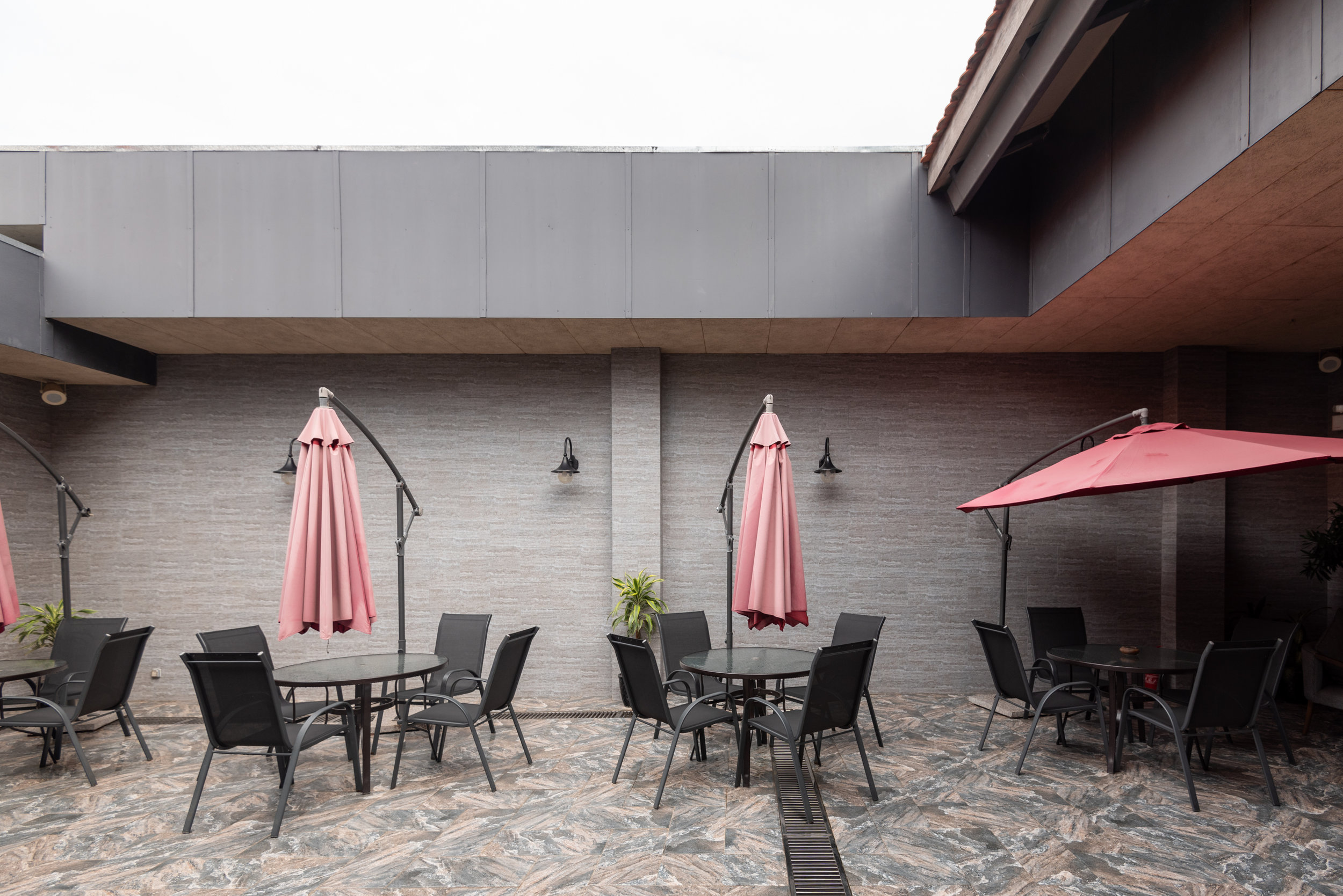 Outdoor Seating Area  Plaza Premium Lounge - Siem Reap International Airport (REP)