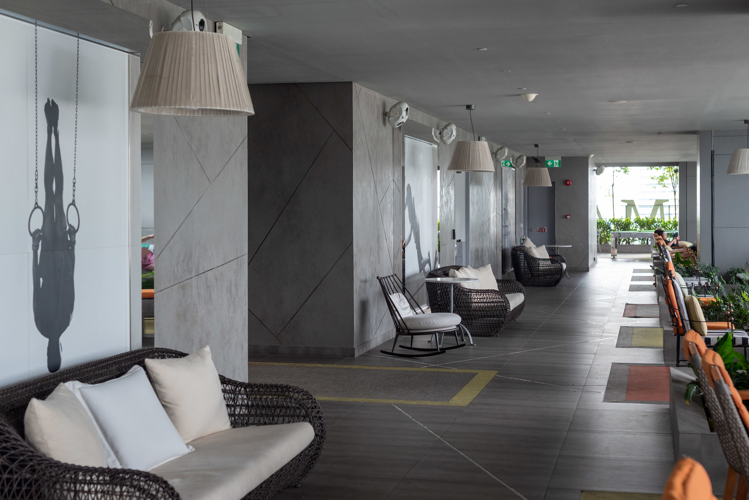 Seating Area  Flow 18 - JW Marriott Hotel Singapore South Beach