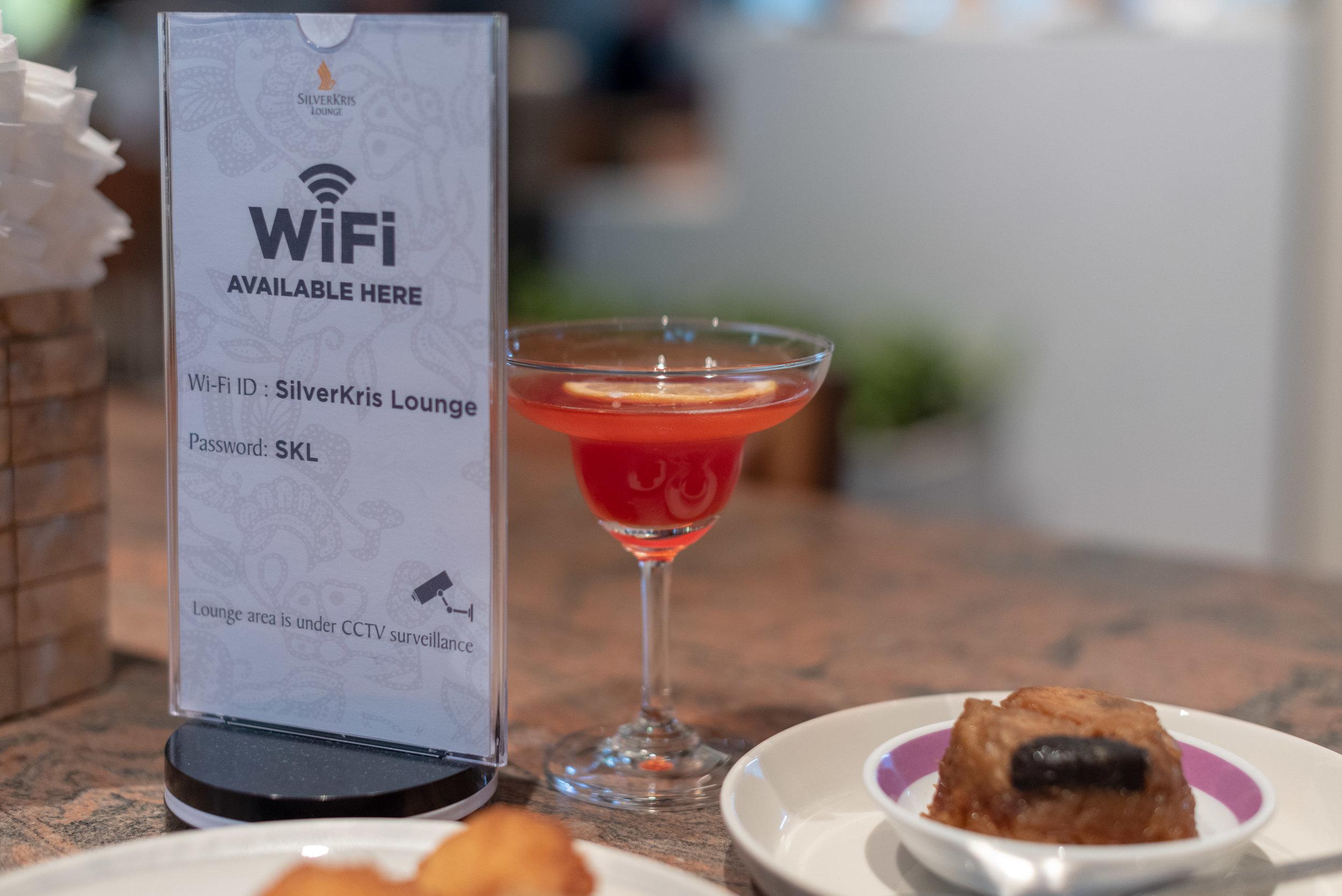 Singapore Pride (Cocktail)  Singapore Airlines SilverKris Lounge - Suvarnabhumi Airport (BKK)