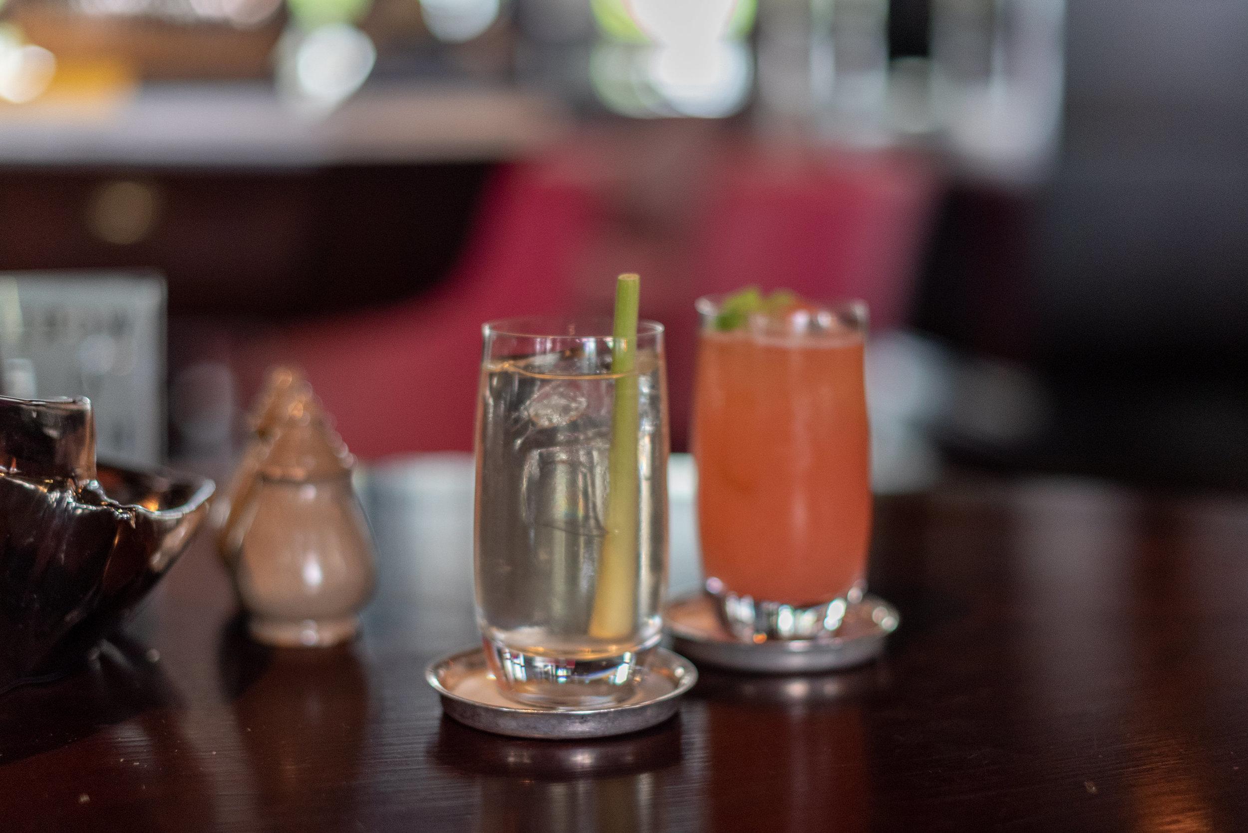 Welcome Drinks  The Living Room - Park Hyatt Siem Reap
