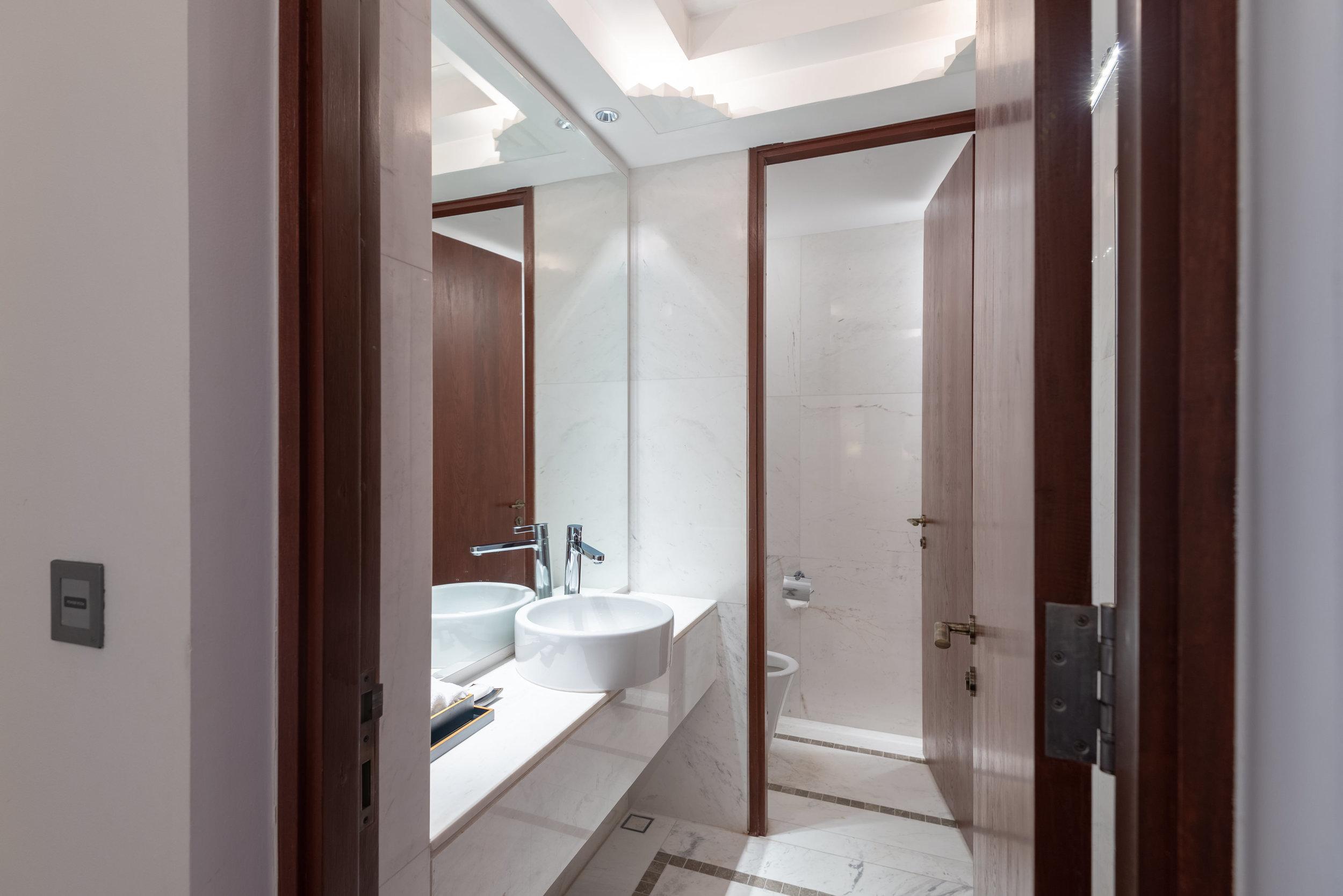 Powder Room  Rooftop Garden Suite - Park Hyatt Siem Reap