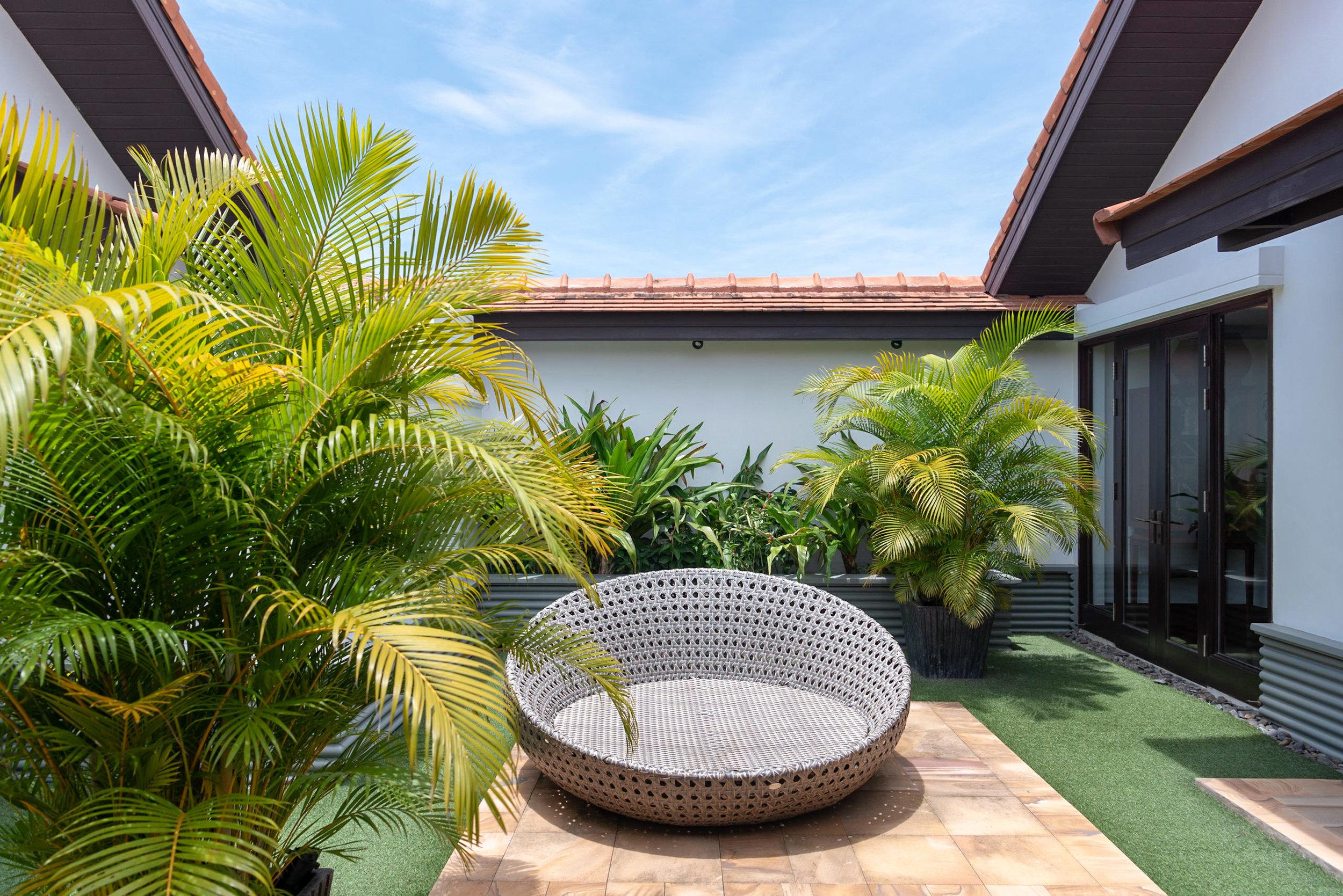 Outdoor Private Garden  Rooftop Garden Suite - Park Hyatt Siem Reap