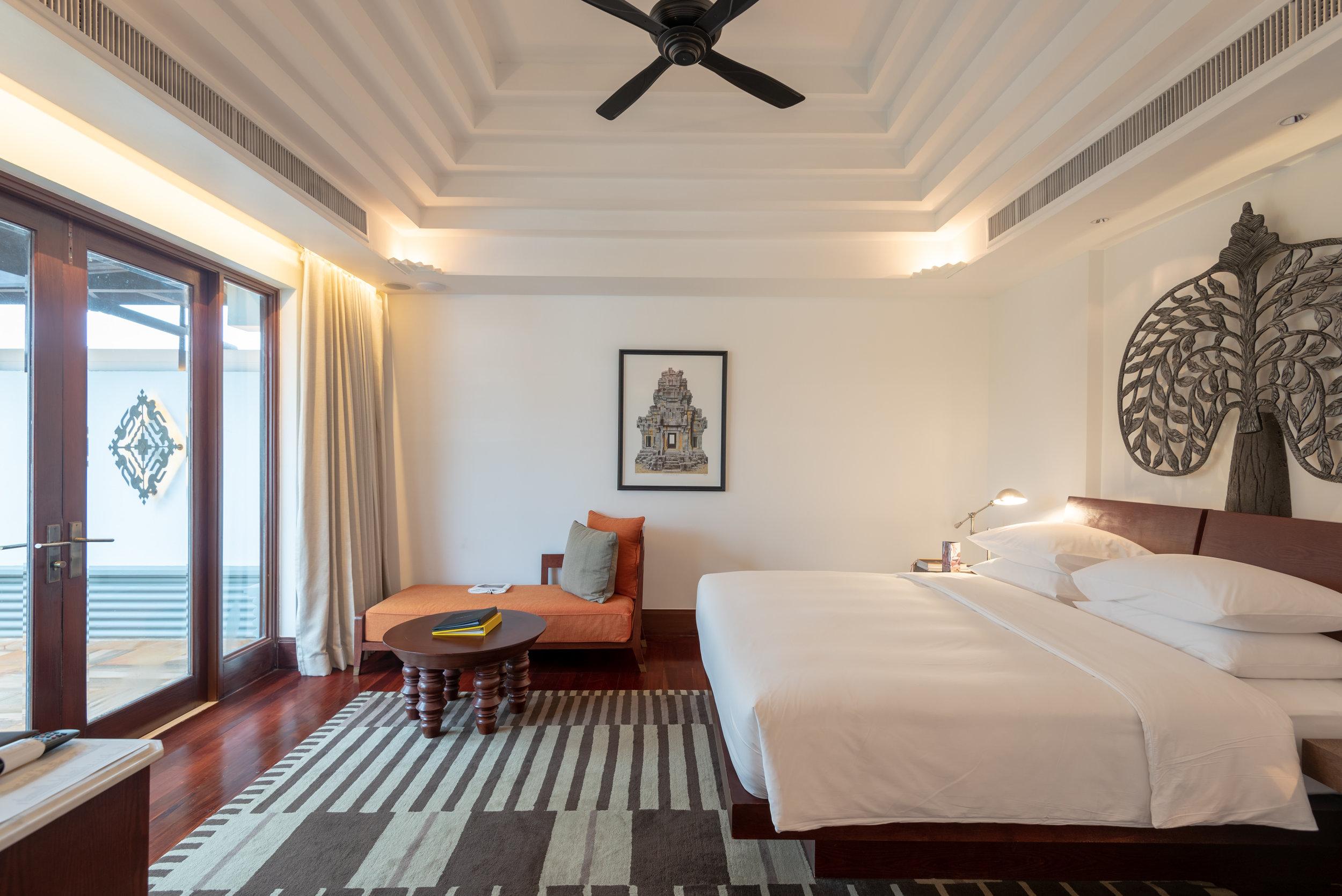 Bedroom  Rooftop Garden Suite - Park Hyatt Siem Reap