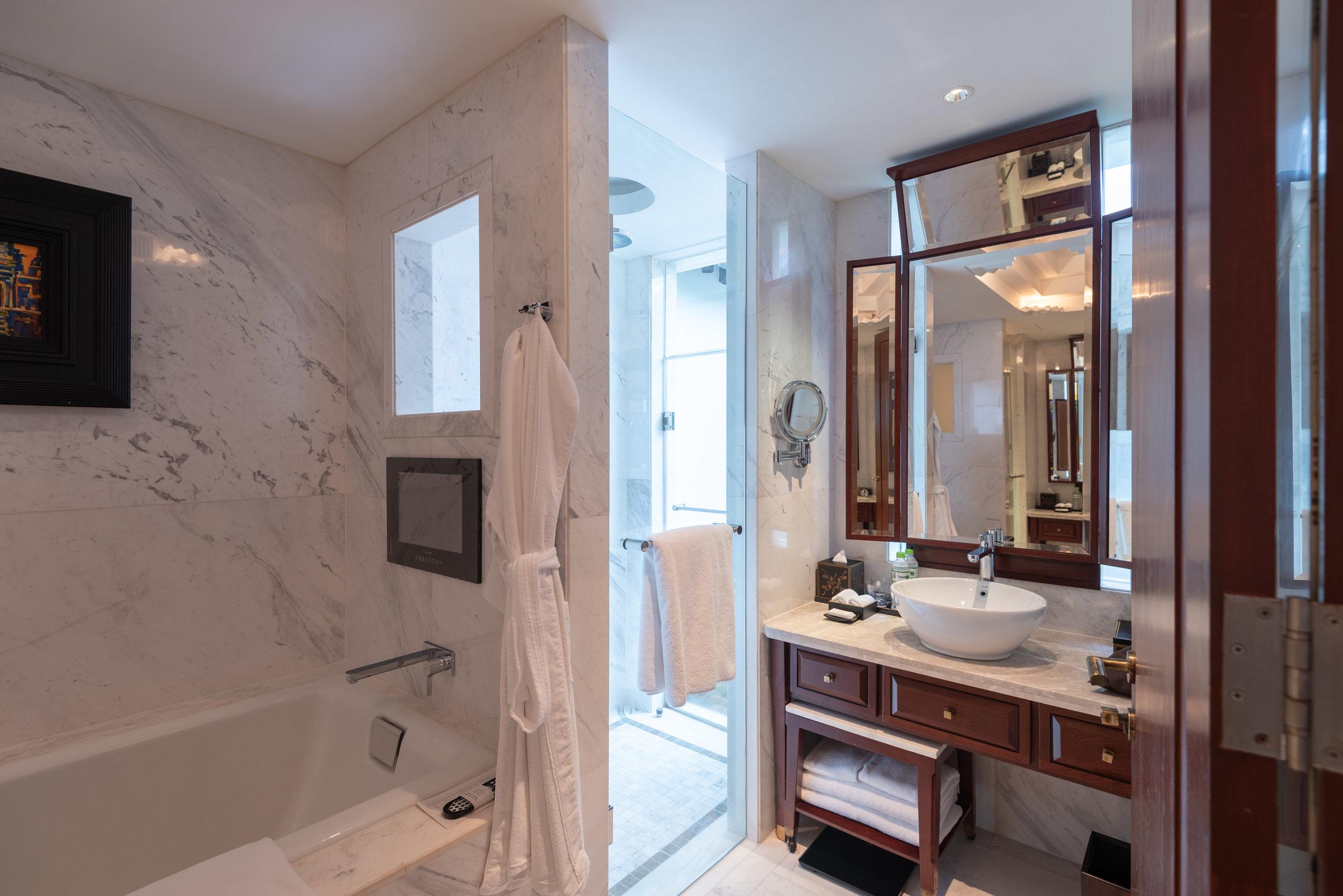Bathroom  Rooftop Garden Suite - Park Hyatt Siem Reap
