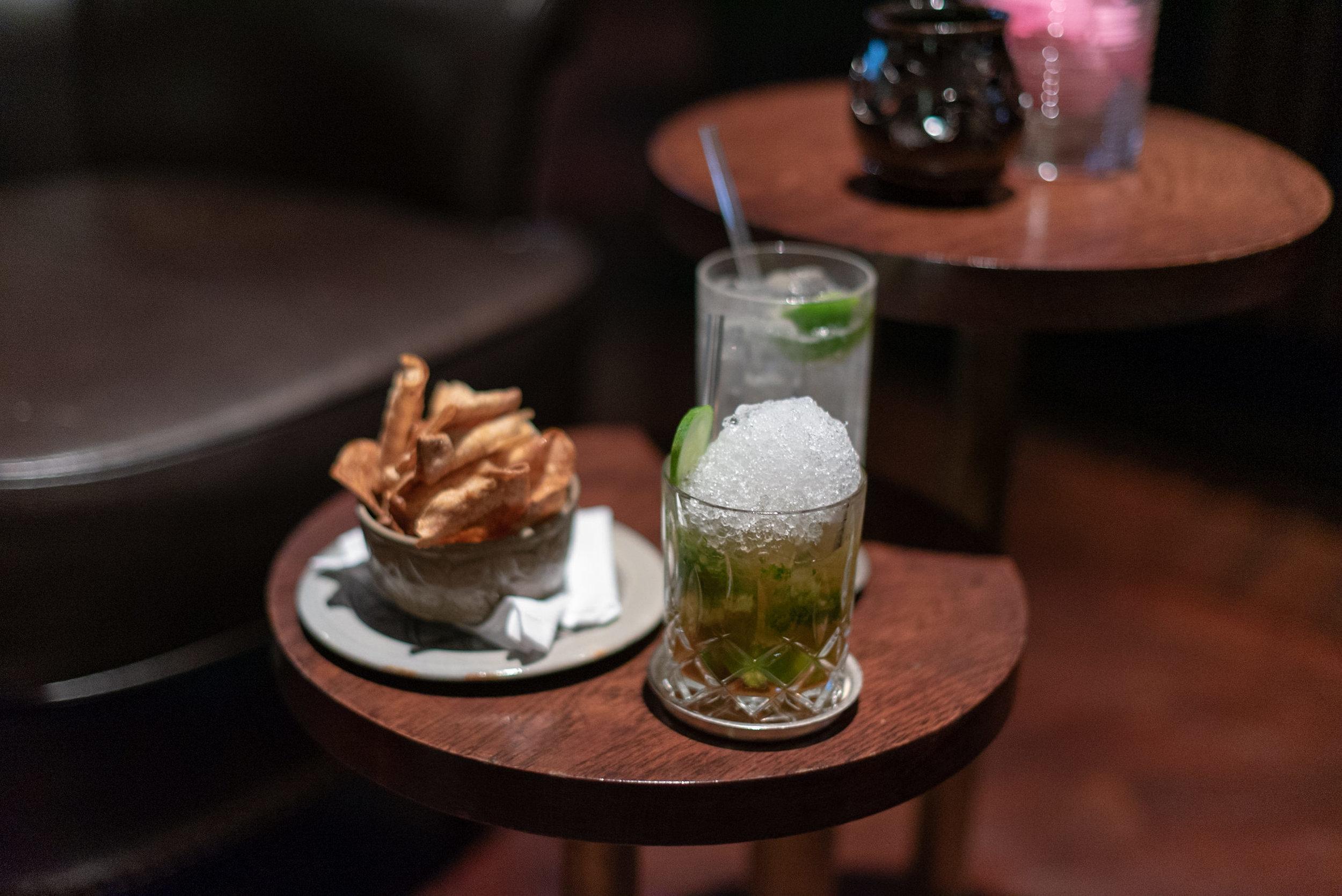 Happy Hour  The Living Room - Park Hyatt Siem Reap