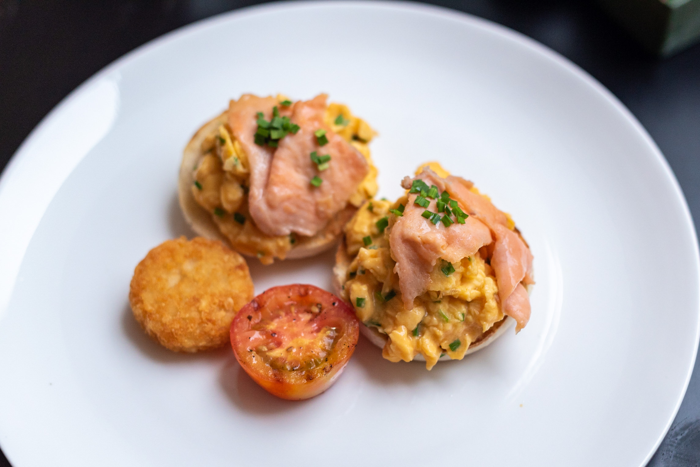 Truffle Scrambled Eggs - Breakfast  The Dining Room - Park Hyatt Siem Reap