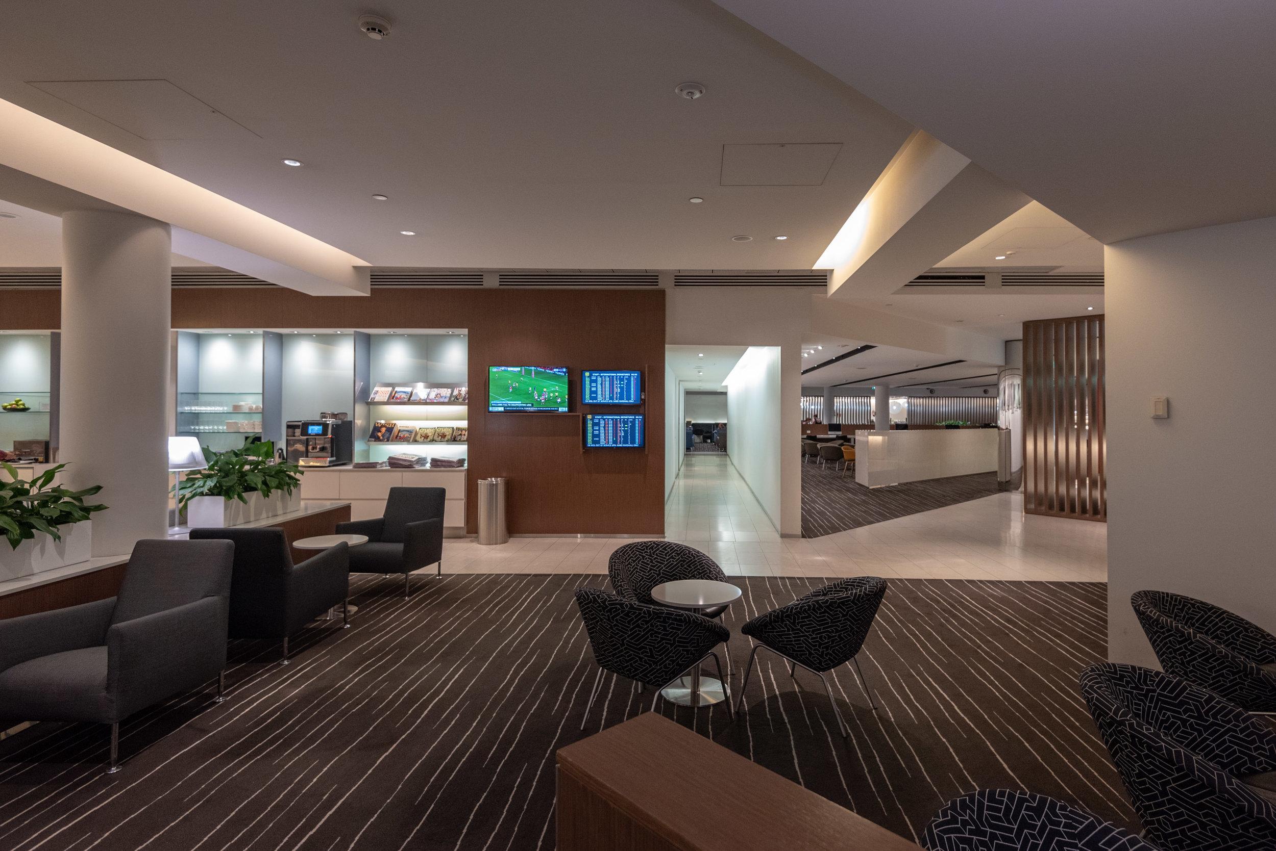 Seating Area  Qantas International Business Lounge - Melbourne Airport (MEL)