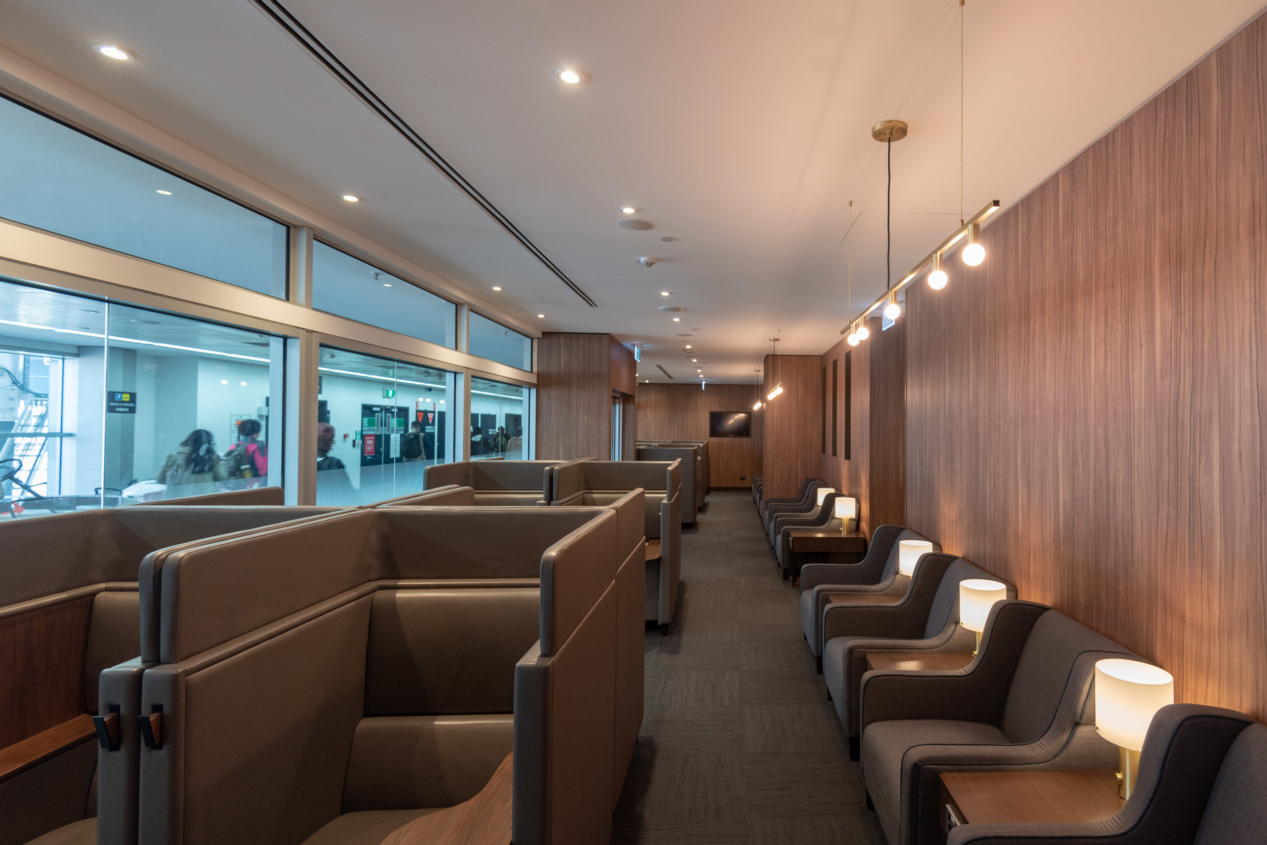 Seating Area with Natural Daylight  Plaza Premium Lounge - Melbourne Airport (MEL)
