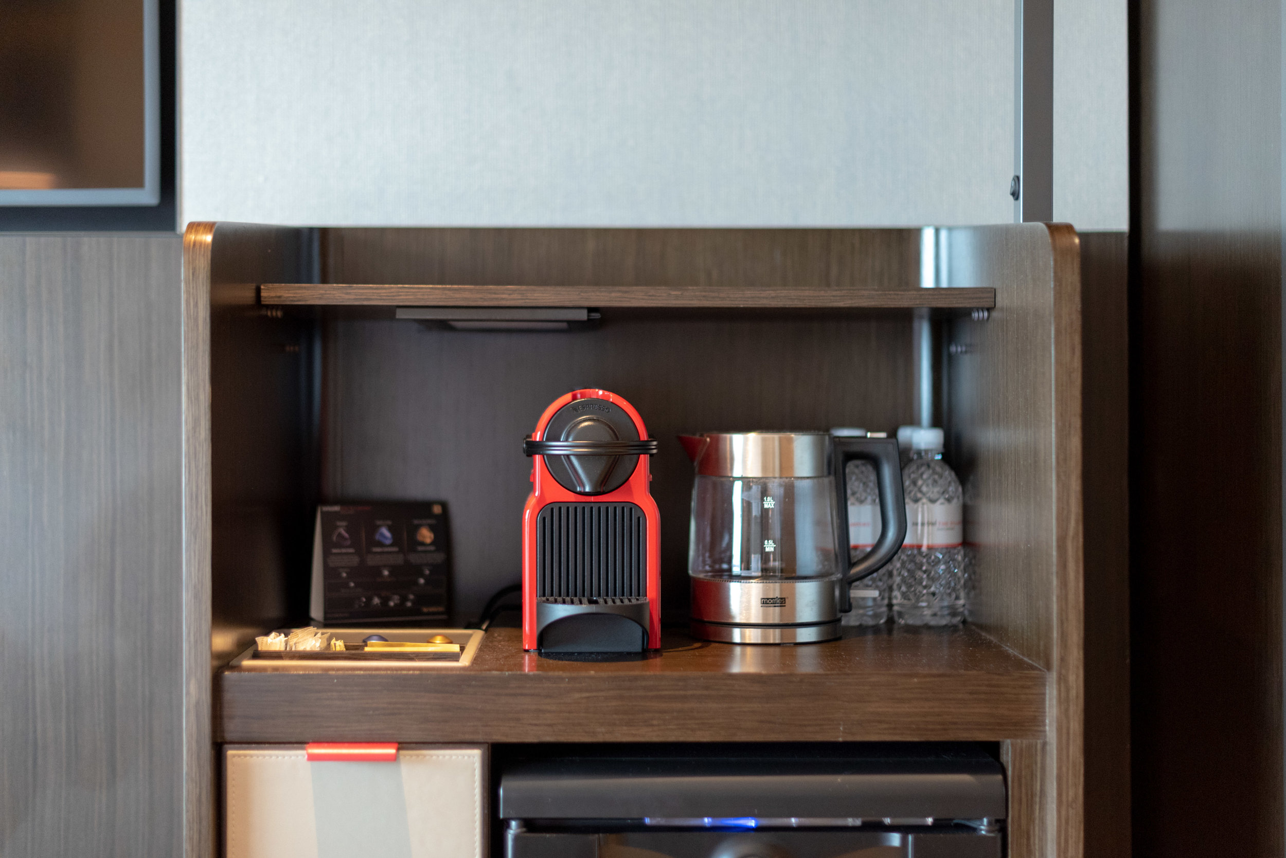 Nespresso Coffee Machine  Premier Harbour View Room - Swissotel The Stamford