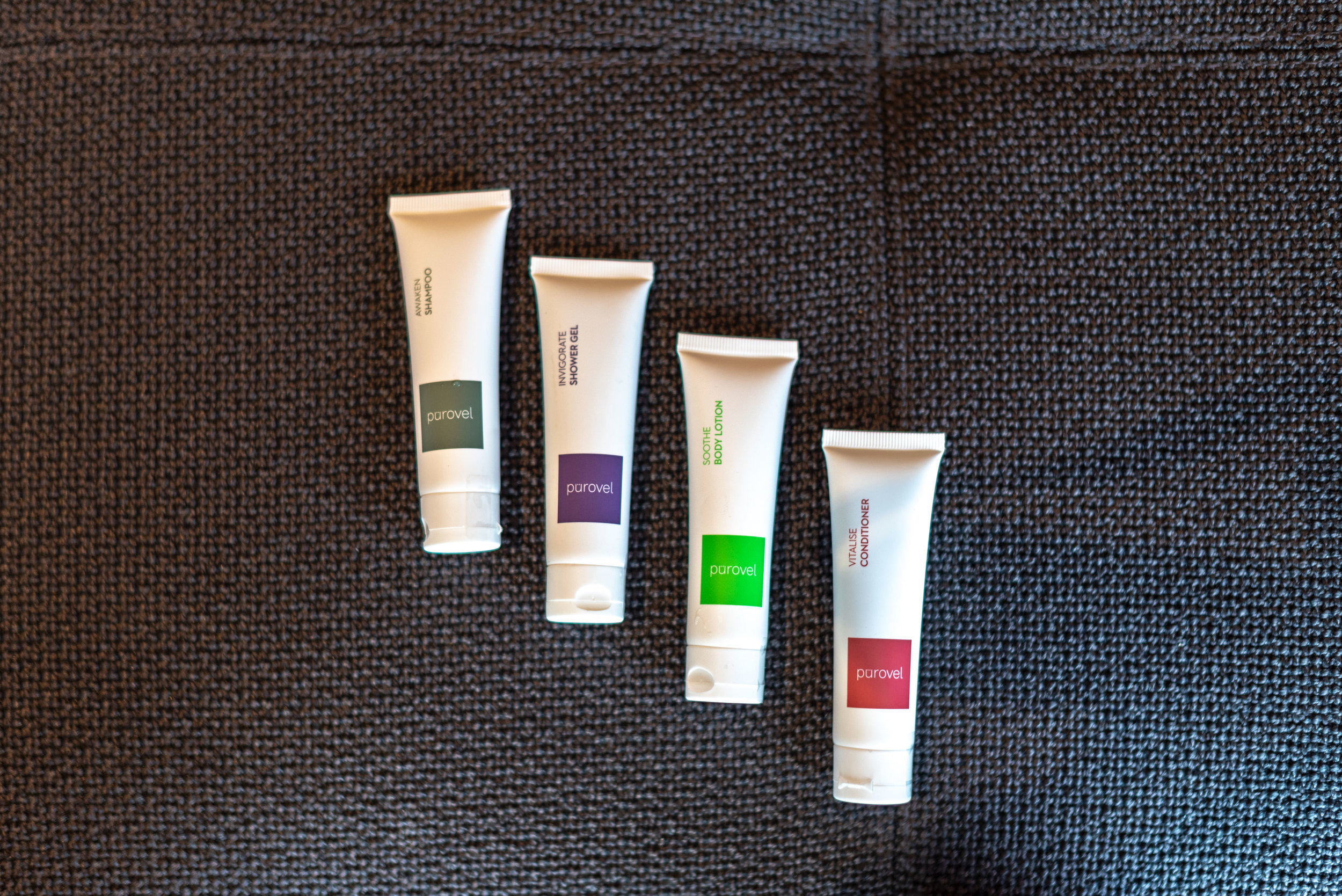 Bath Amenities  Premier Harbour View Room - Swissotel The Stamford