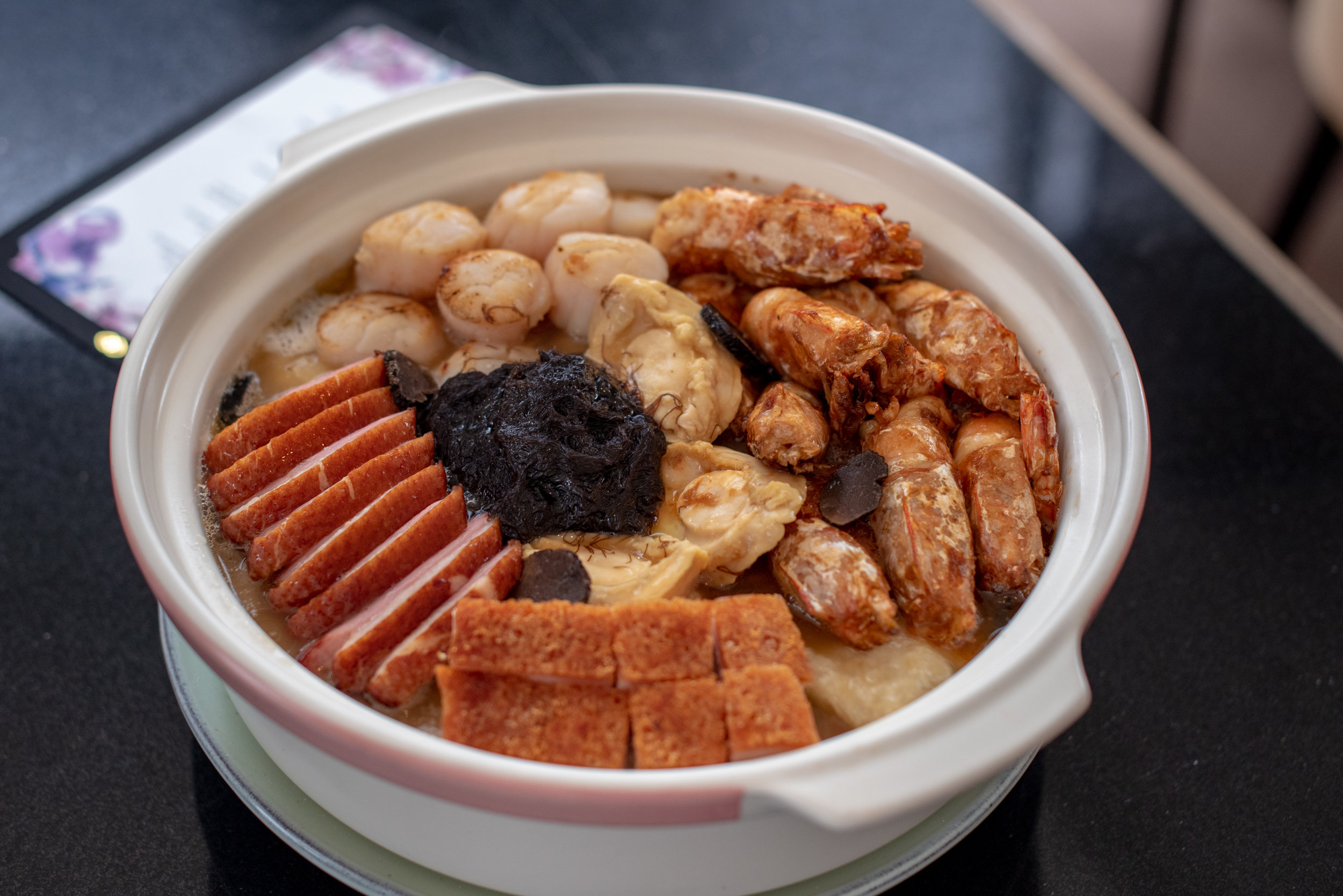 Chef Andrew's Magnifique Pen Cai  Racines - Sofitel Singapore City Centre