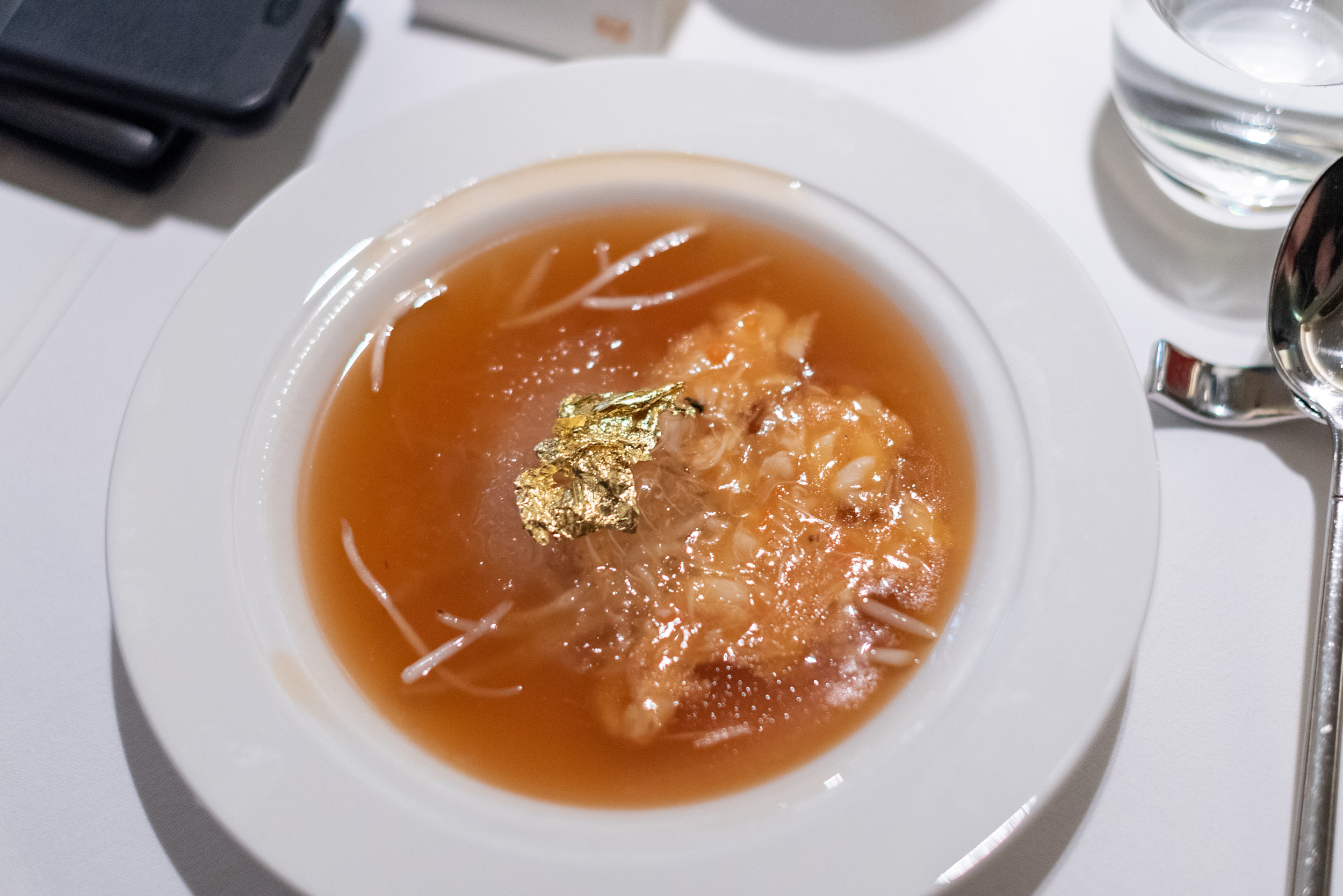 Bird Nest, Crab Meat and Crab Roe with Supreme Stock  Madame Fan - The NCO Club