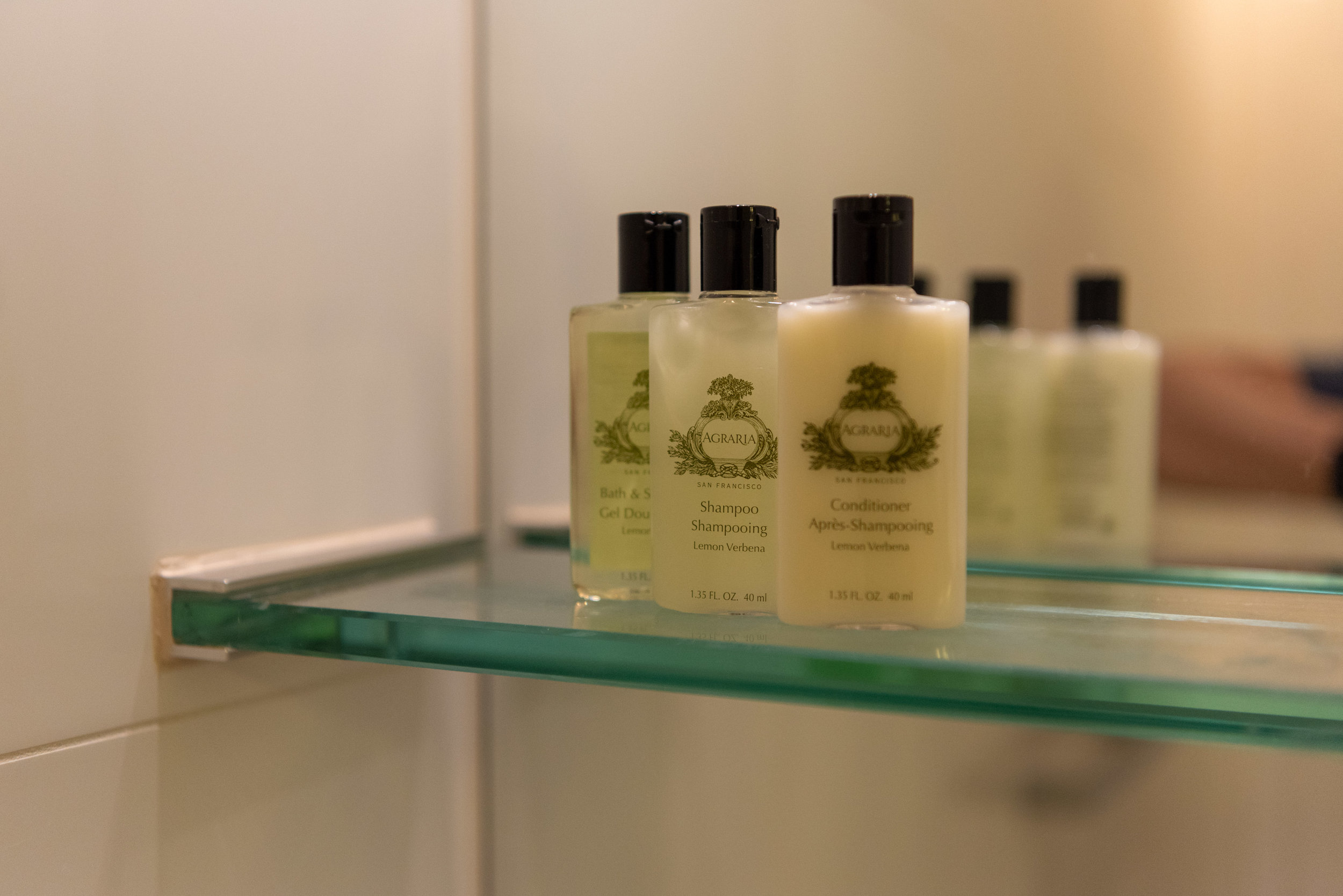 Bath Amenities  Executive Room - InterContinental Melbourne The Rialto