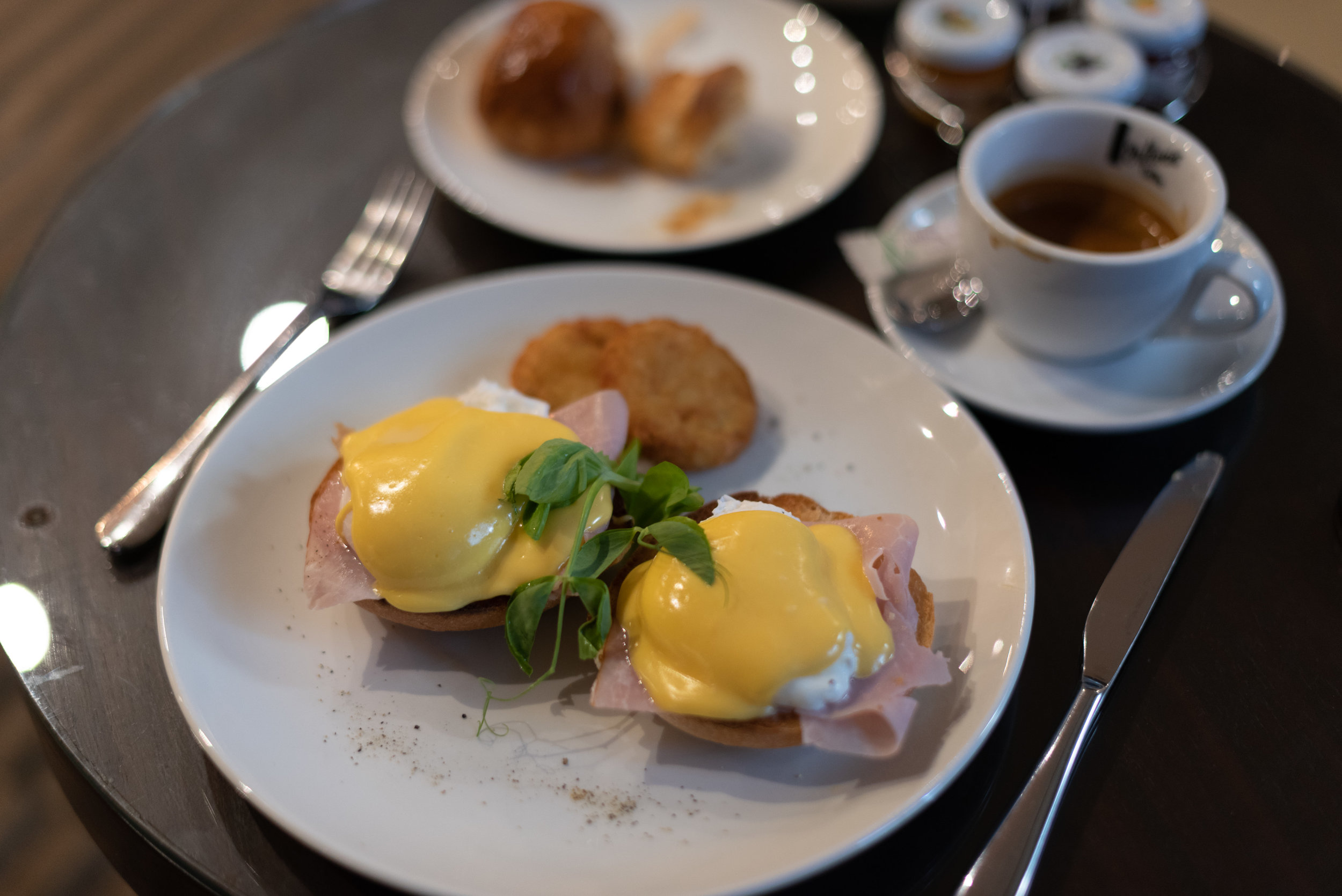 A La Carte Breakfast  Club InterContinental Lounge - InterContinental Melbourne The Rialto