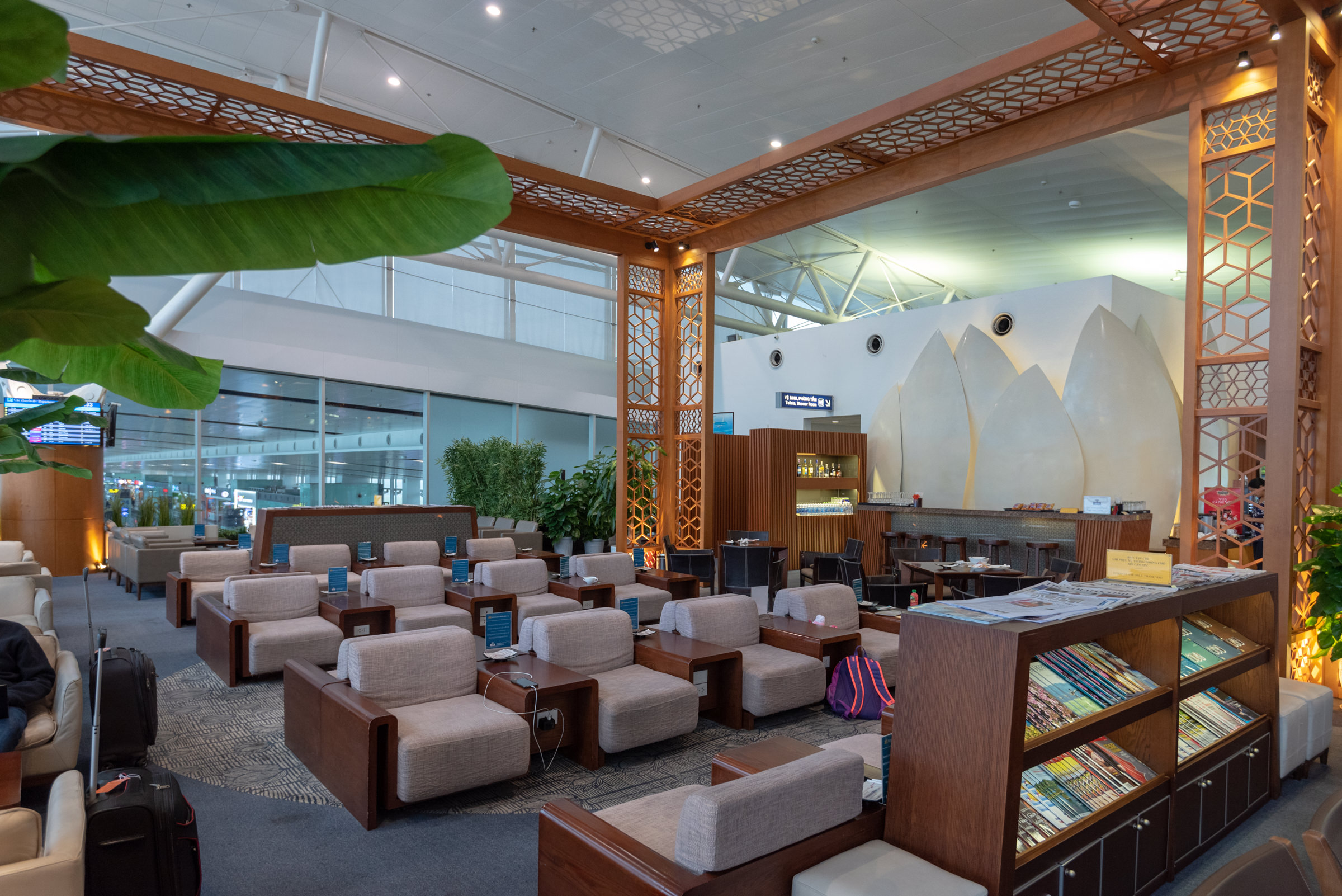 Lounging Area  Vietnam Airlines Lotus Lounge - Noi Bai International Airport
