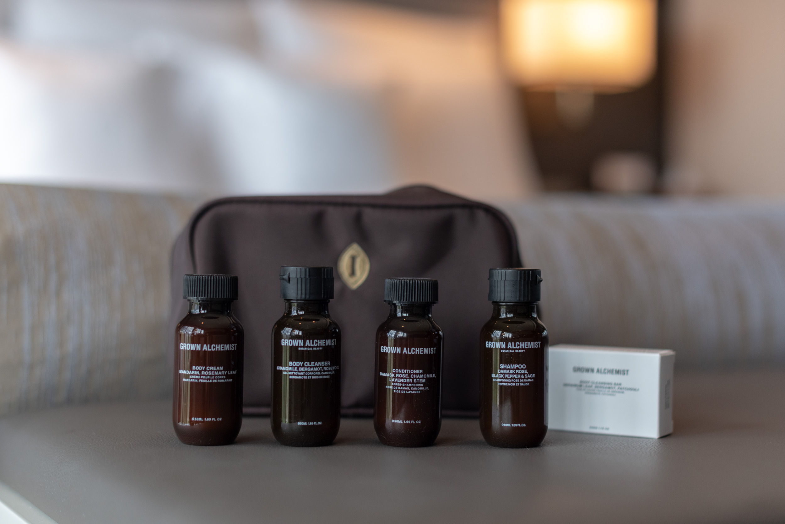 Bath Amenities  Quayside Corner Suite - InterContinental Singapore Robertson Quay