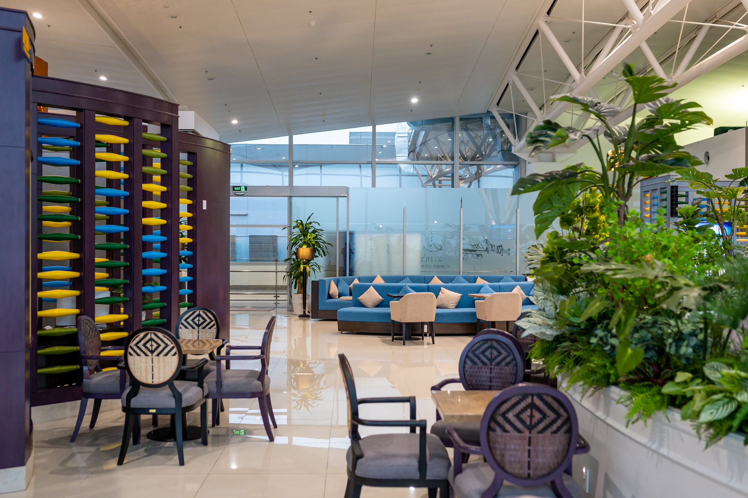 Entrance  Song Hong Business Lounge - Noi Bai International AIrport (HAN)